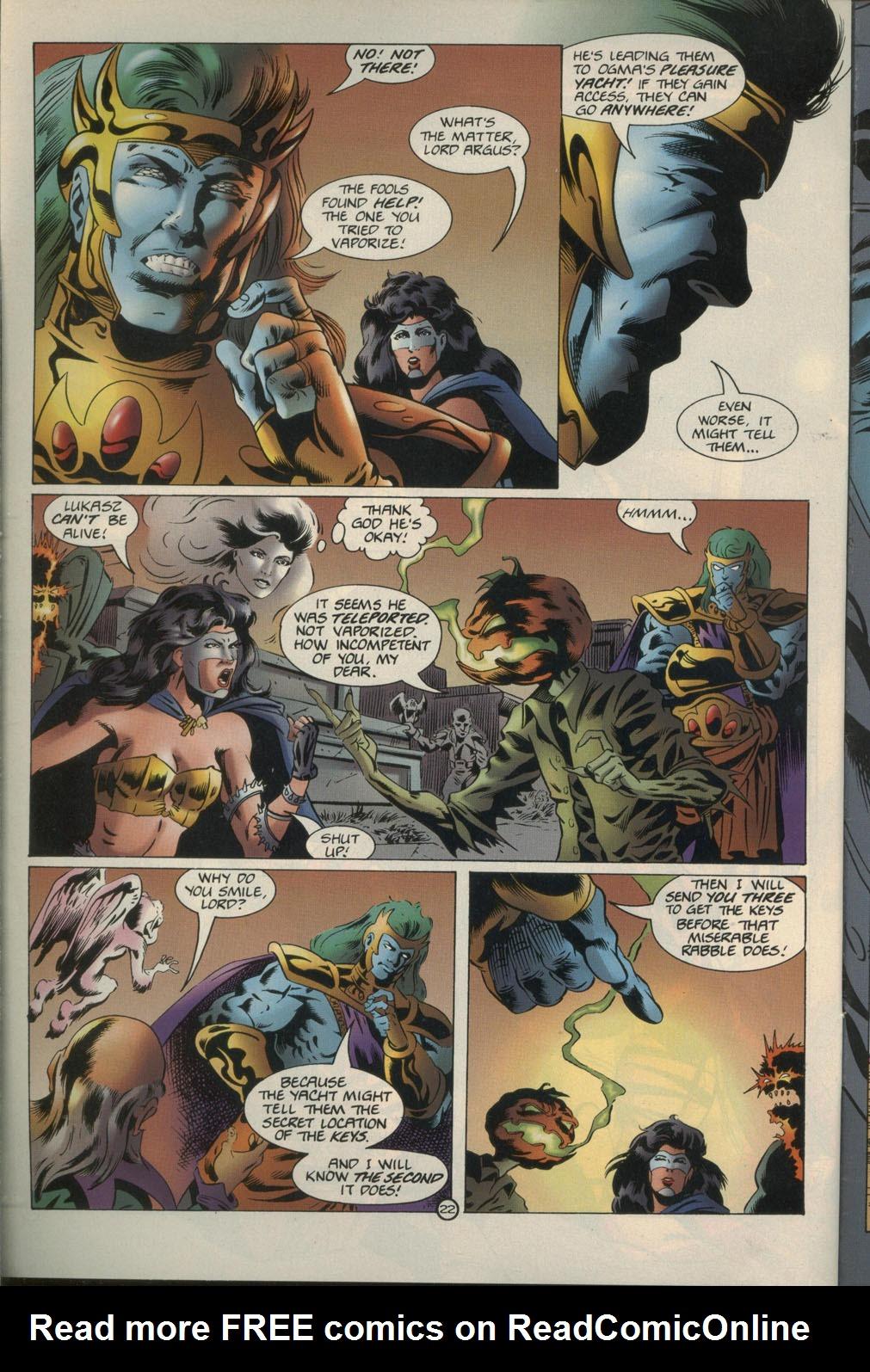 Read online Godwheel comic -  Issue #1 - 25