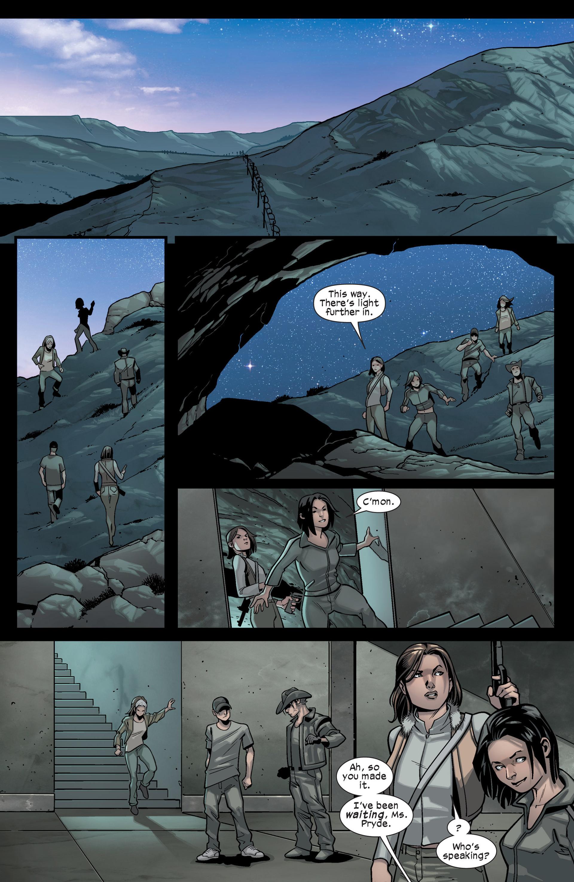 Read online Ultimate Comics X-Men comic -  Issue #15 - 22