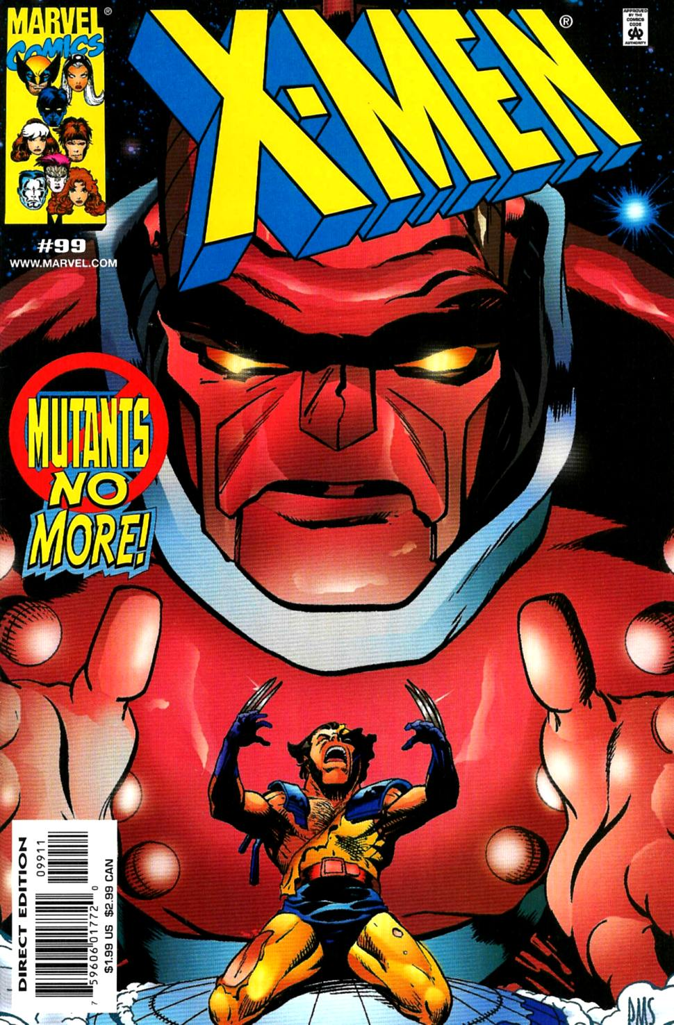 X-Men (1991) 99 Page 0