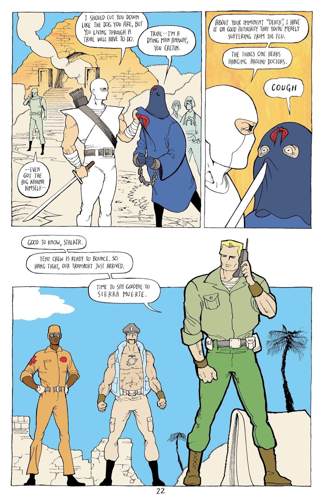 Read online G.I. Joe: Sierra Muerte comic -  Issue #3 - 24