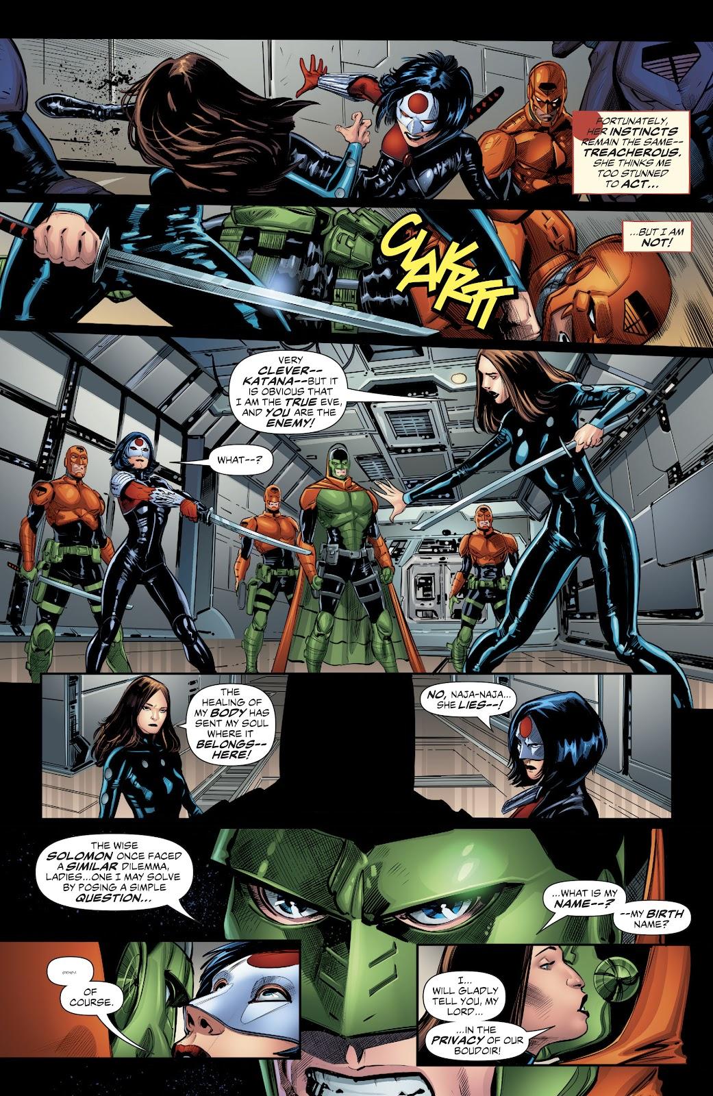 Read online Suicide Squad Black Files comic -  Issue #4 - 4