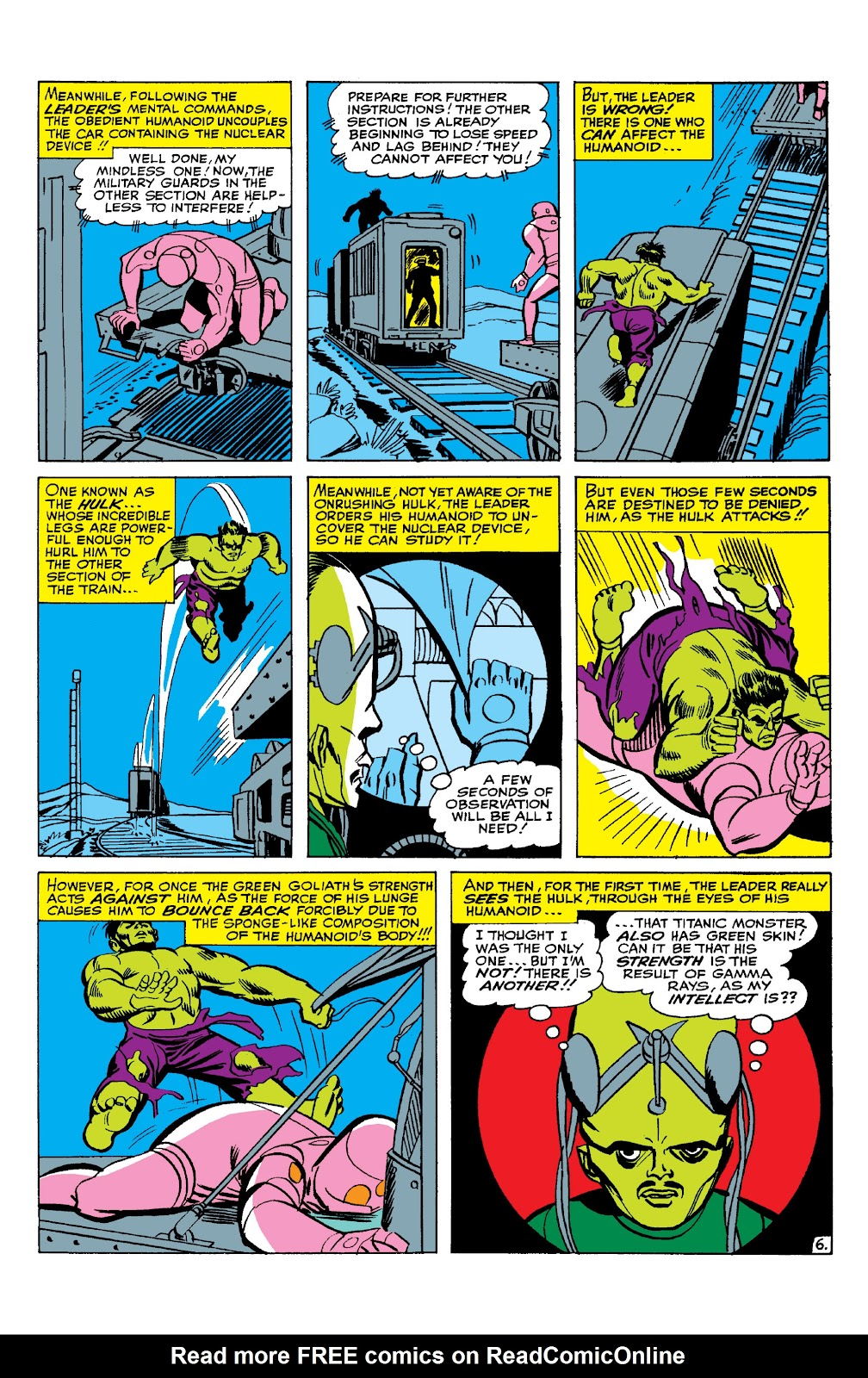 Read online Marvel Masterworks: The Incredible Hulk comic -  Issue # TPB 2 (Part 1) - 63
