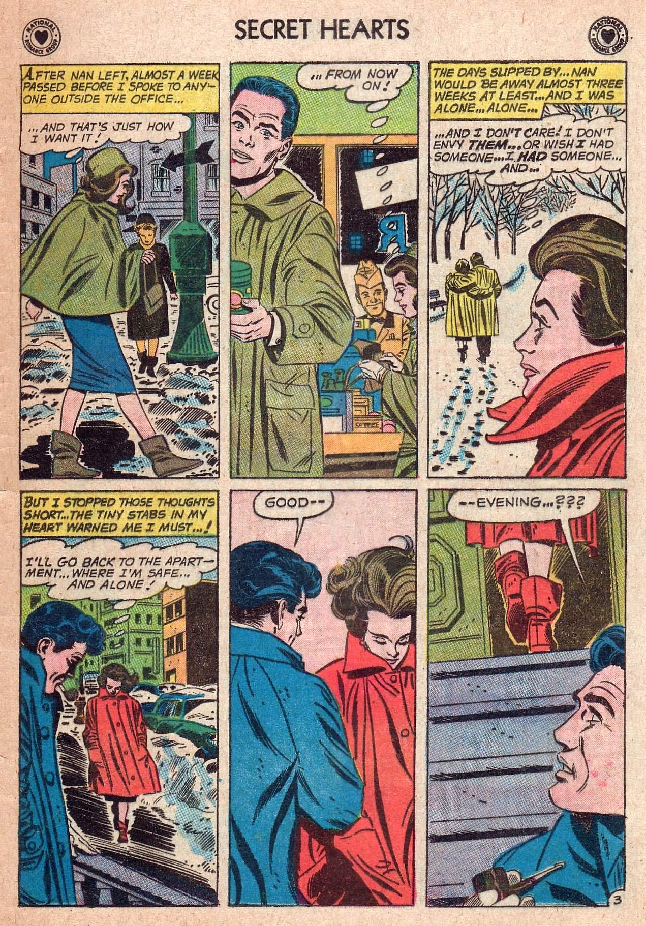 Read online Secret Hearts comic -  Issue #73 - 5