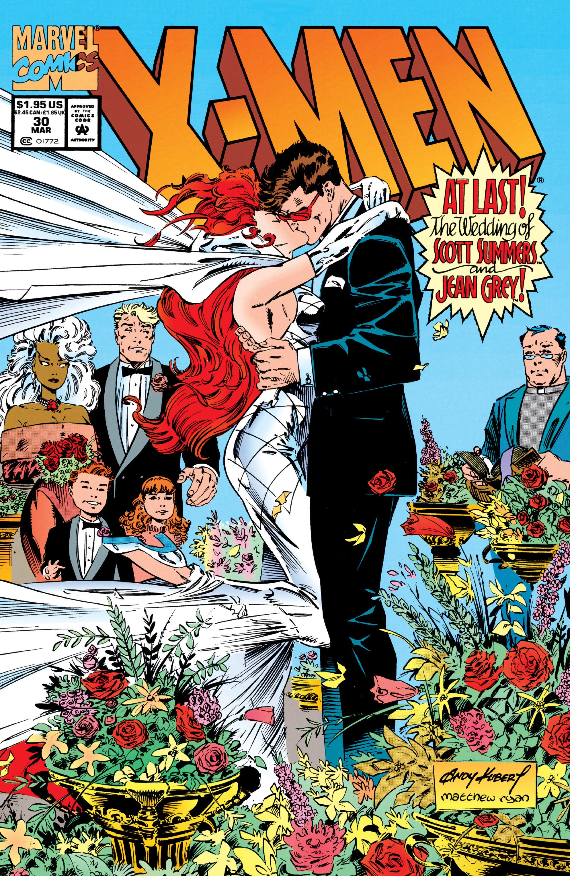X-Men (1991) 30 Page 0