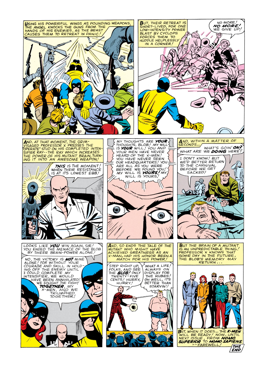 Read online Uncanny X-Men (1963) comic -  Issue #3 - 25