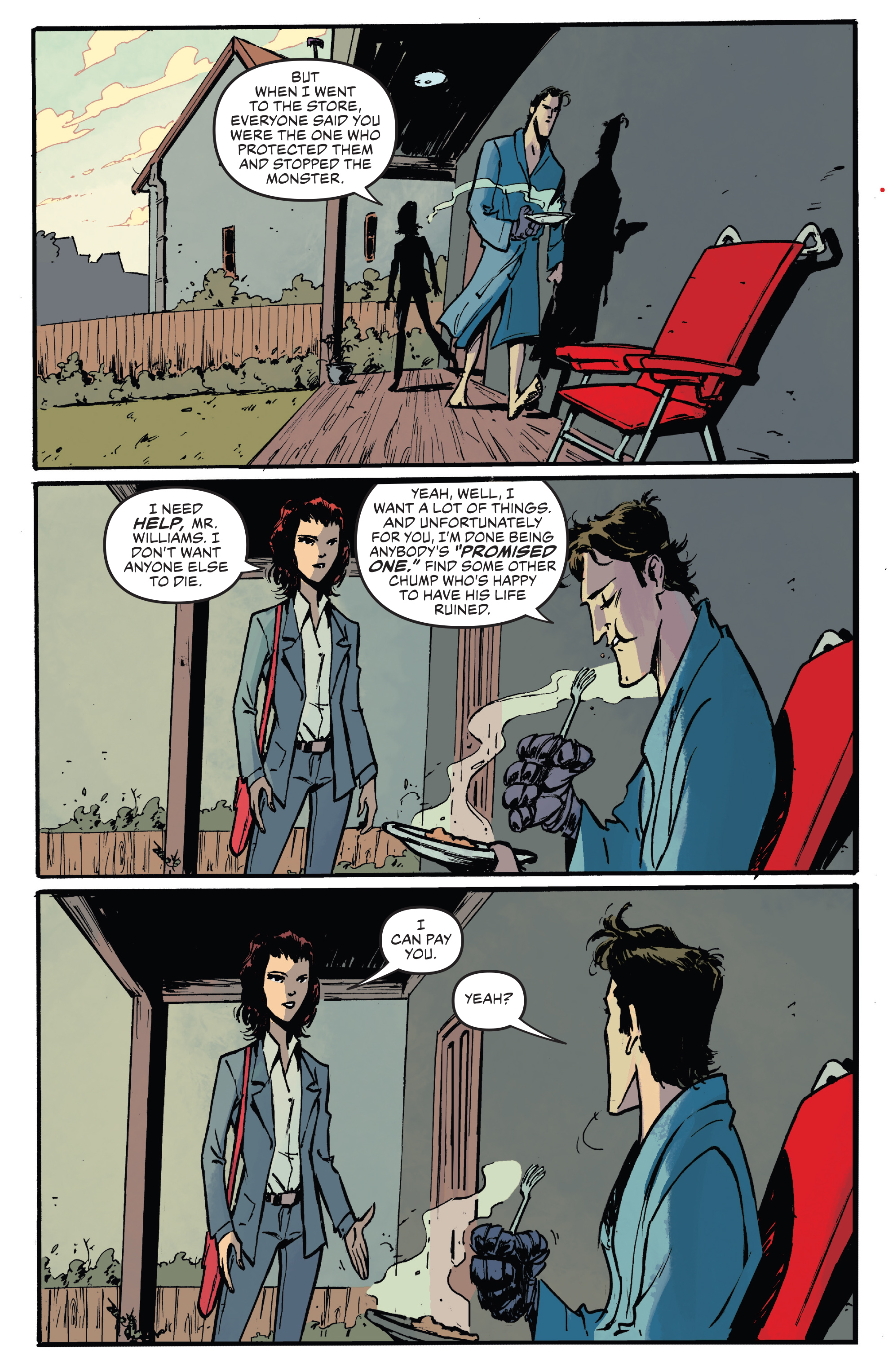 Read online Ash Vs. The Army of Darkness comic -  Issue #0 - 18