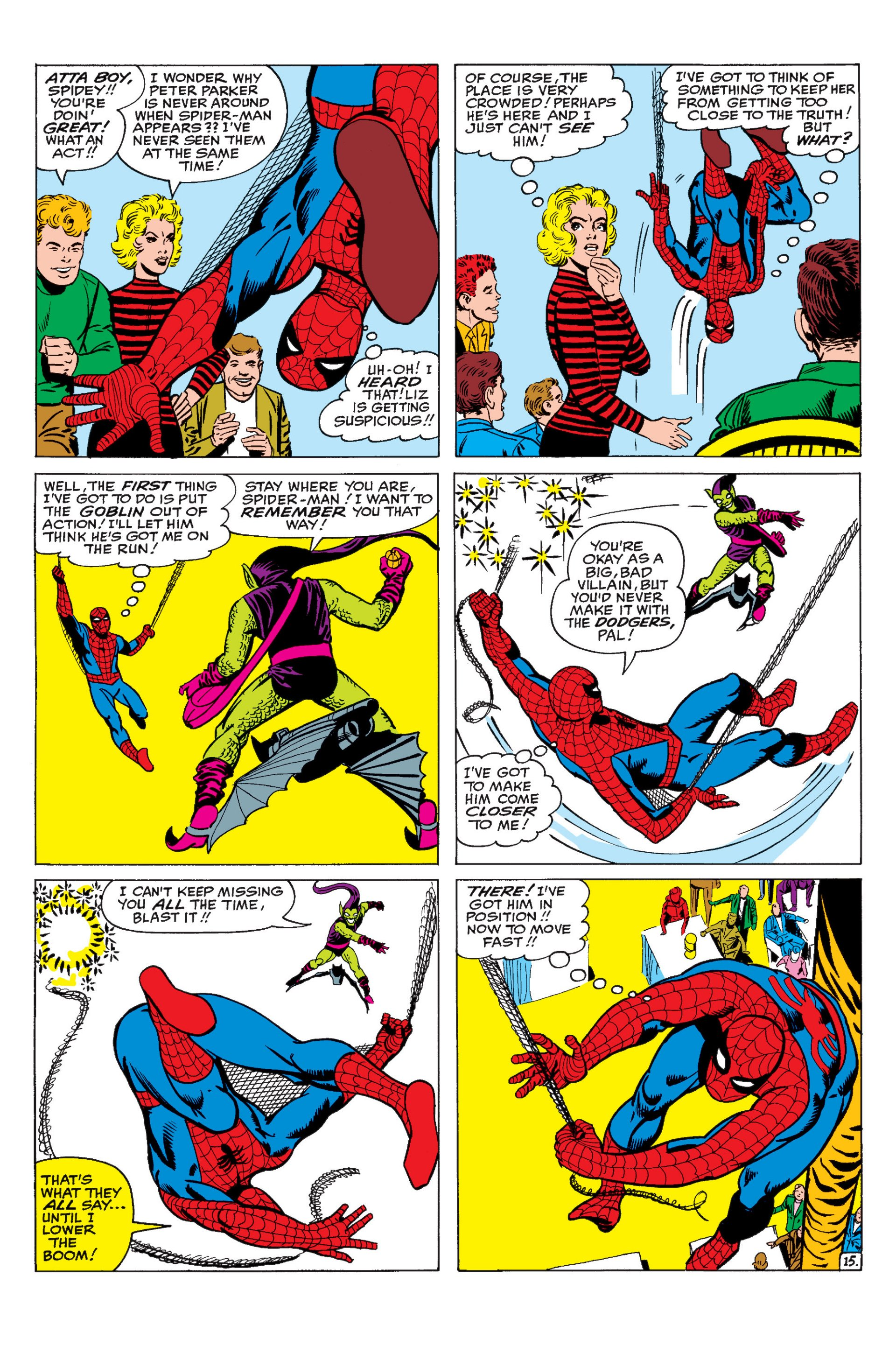 The Amazing Spider-Man (1963) 17 Page 15