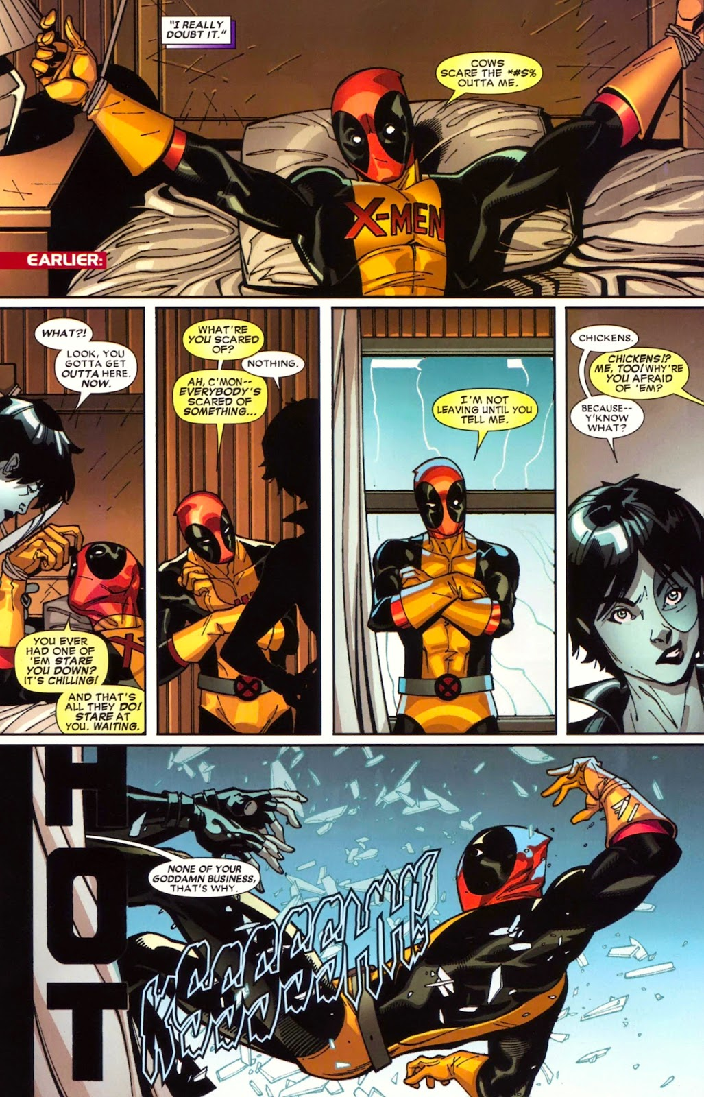 Read online Deadpool (2008) comic -  Issue #17 - 16