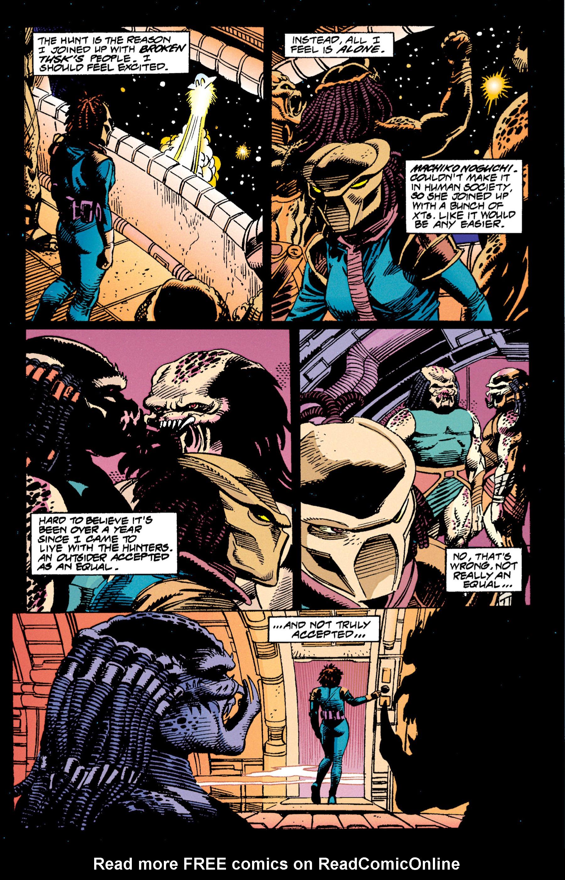 Read online Aliens vs. Predator Omnibus comic -  Issue # _TPB 1 Part 3 - 42