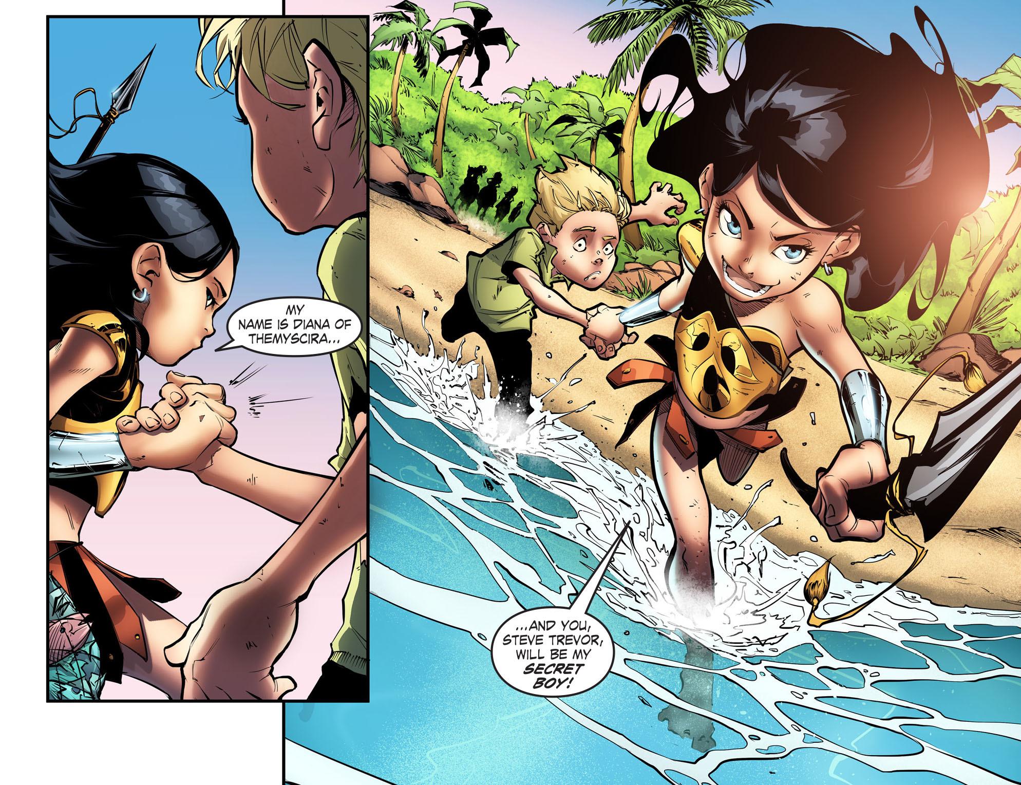 Read online Smallville: Season 11 comic -  Issue #56 - 8