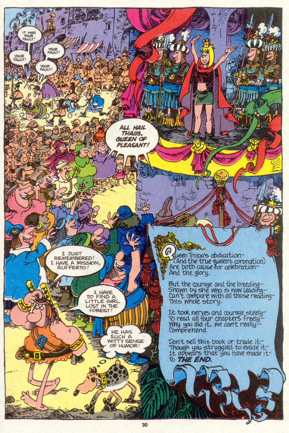 Read online Sergio Aragonés Groo the Wanderer comic -  Issue #83 - 23