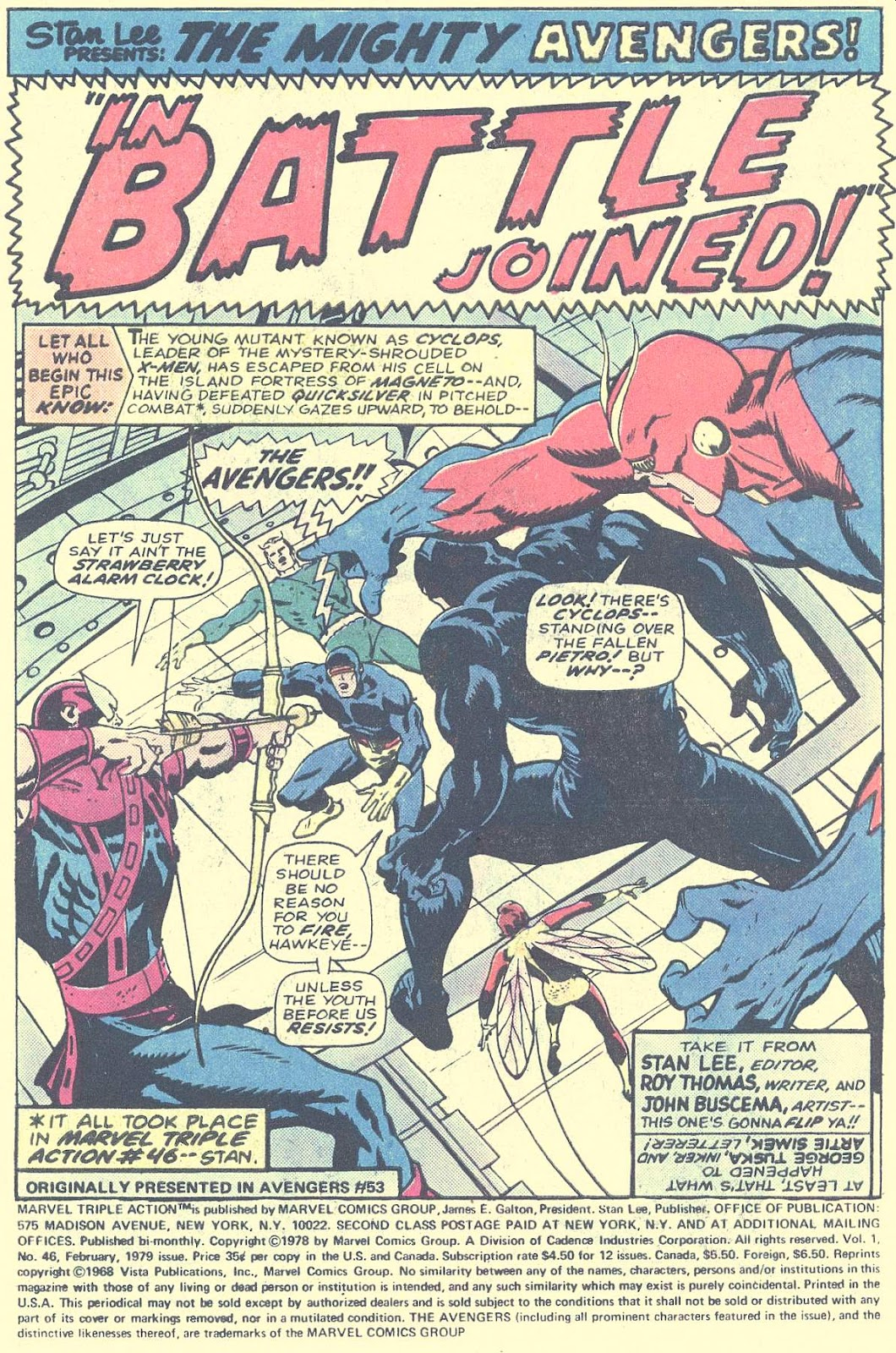 Marvel Triple Action (1972) issue 46 - Page 3