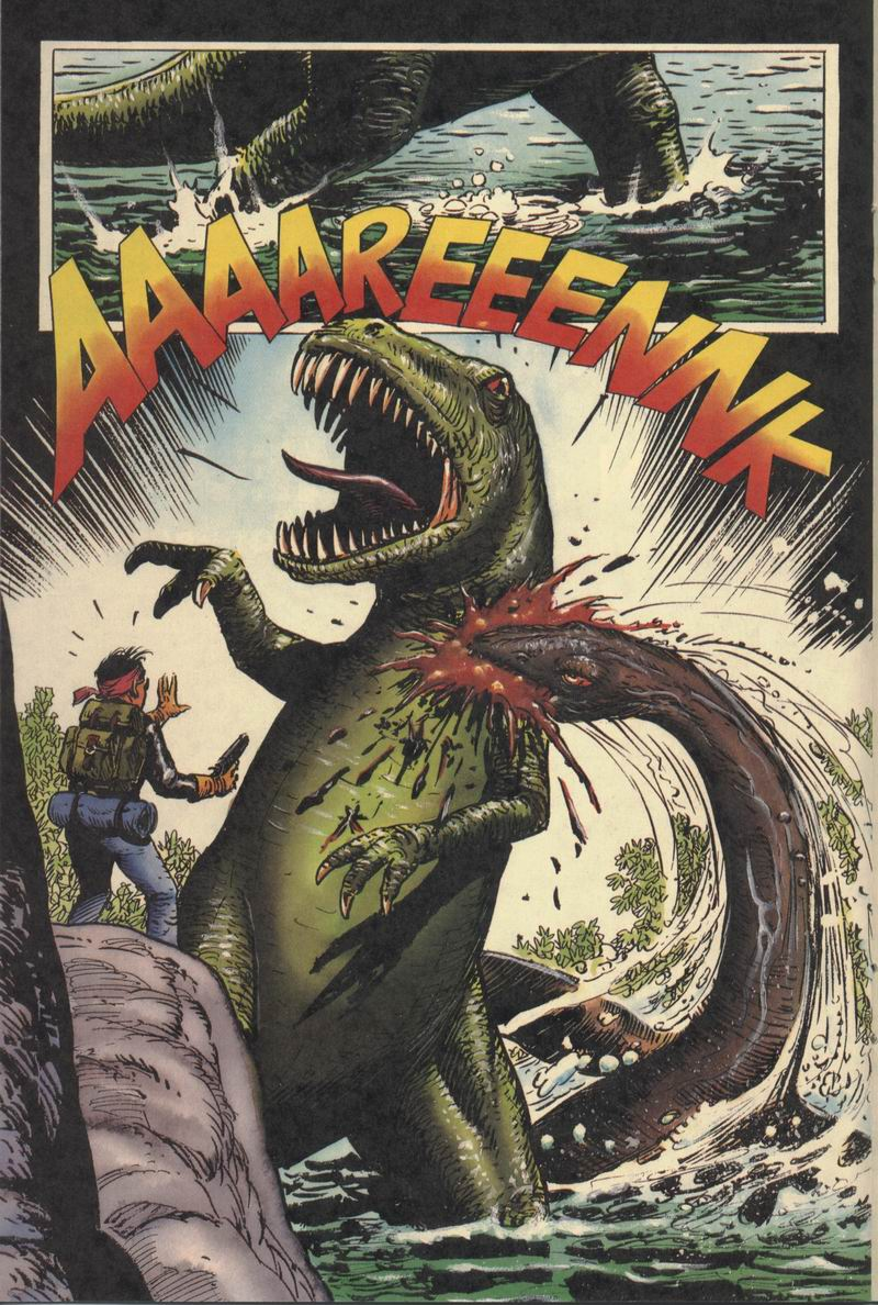 Read online Turok, Dinosaur Hunter (1993) comic -  Issue #8 - 14