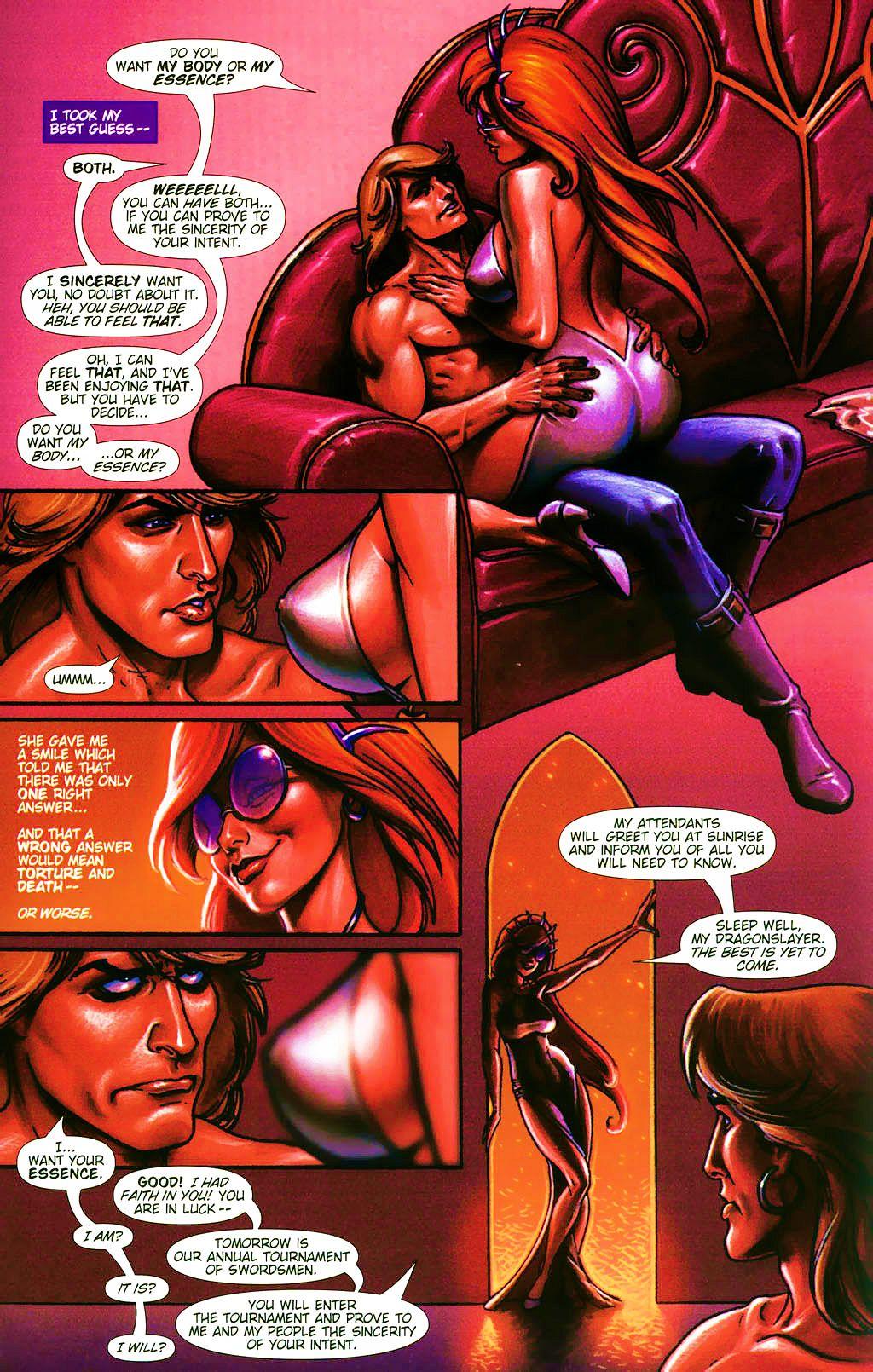 Read online Dawn: Three Tiers comic -  Issue #4 - 5