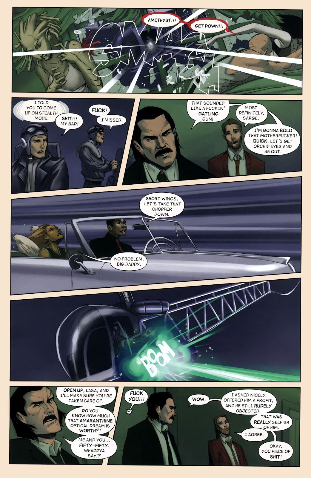 Read online Vescell comic -  Issue #7 - 18