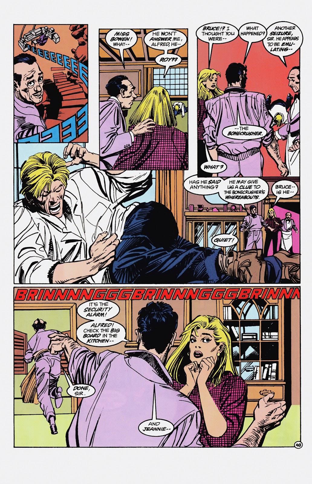 Read online Detective Comics (1937) comic -  Issue # _TPB Batman - Blind Justice (Part 1) - 53