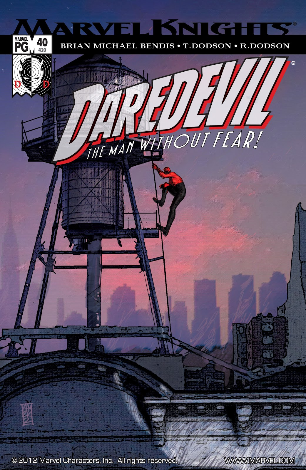 Read online Daredevil (1998) comic -  Issue # _Ultimate_Collection TPB 1 (Part 4) - 88