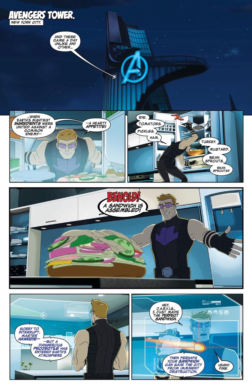 Read online Marvel Universe Avengers Assemble Season 2 comic -  Issue #3 - 2