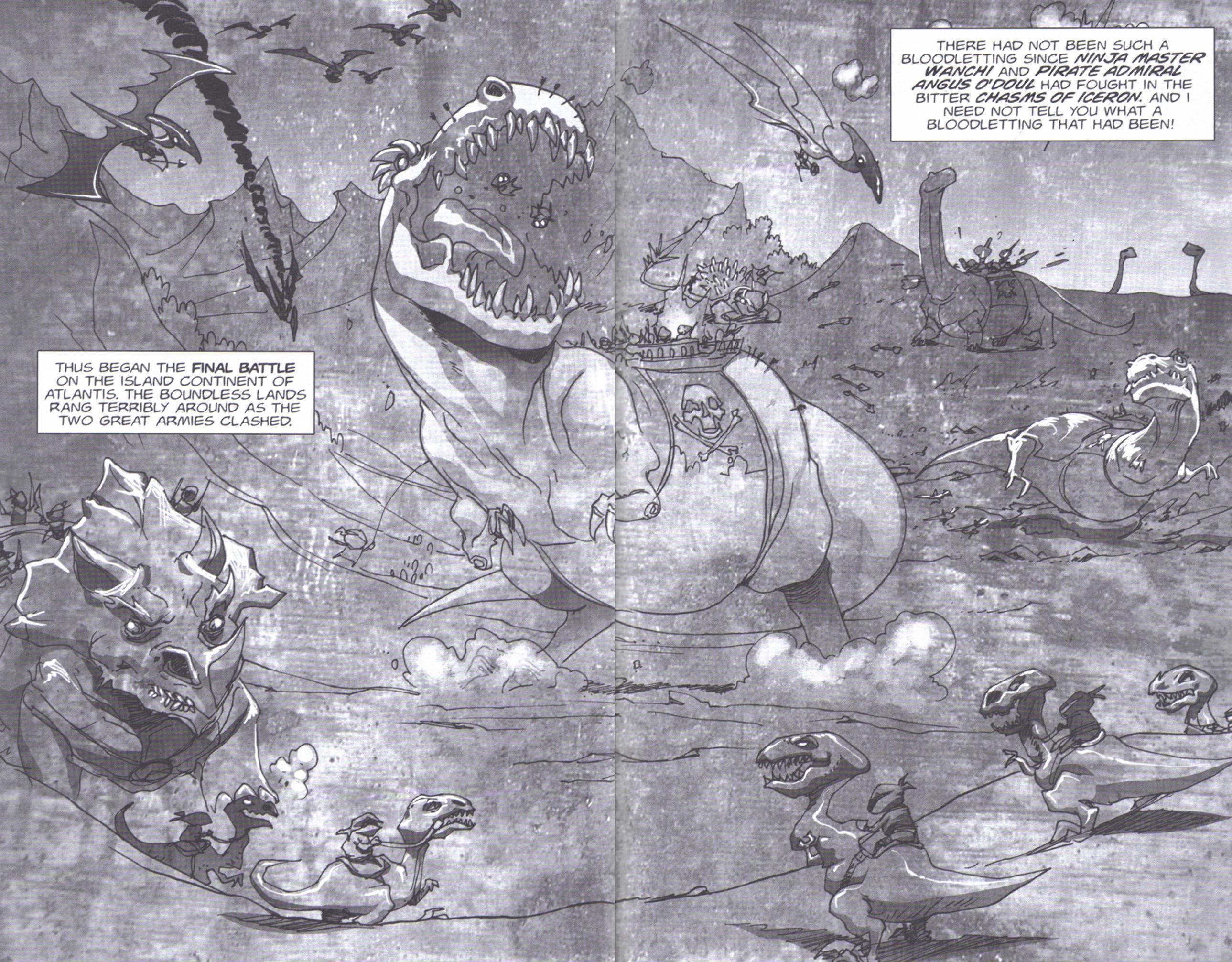 Read online Pirates vs. Ninjas: Global Harming comic -  Issue # Full - 23