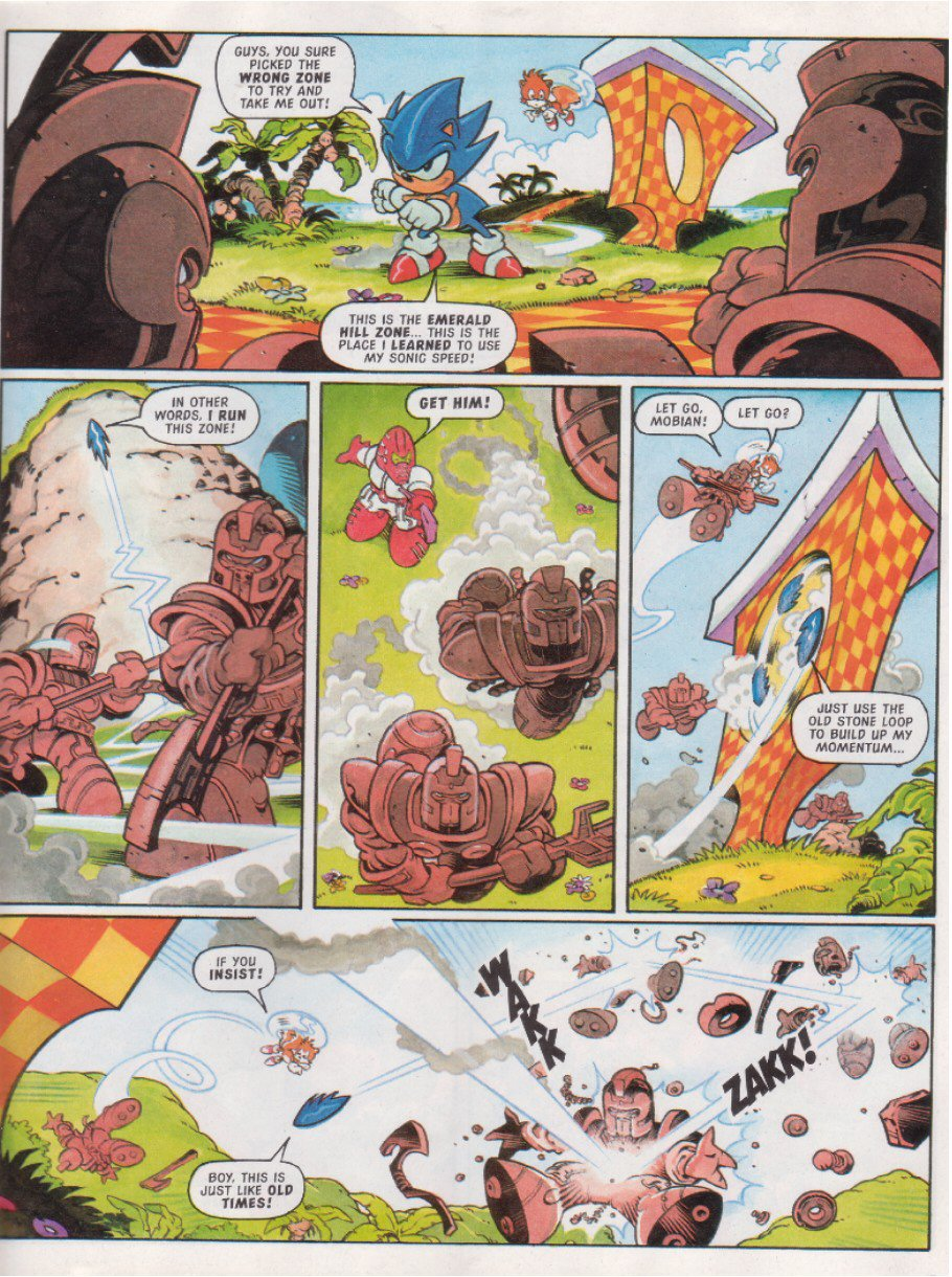 Read online Sonic the Comic comic -  Issue #117 - 7