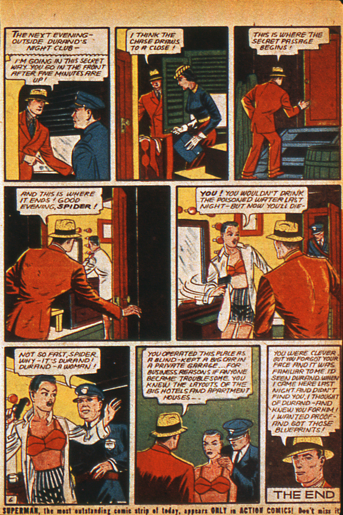 Read online Detective Comics (1937) comic -  Issue #36 - 41