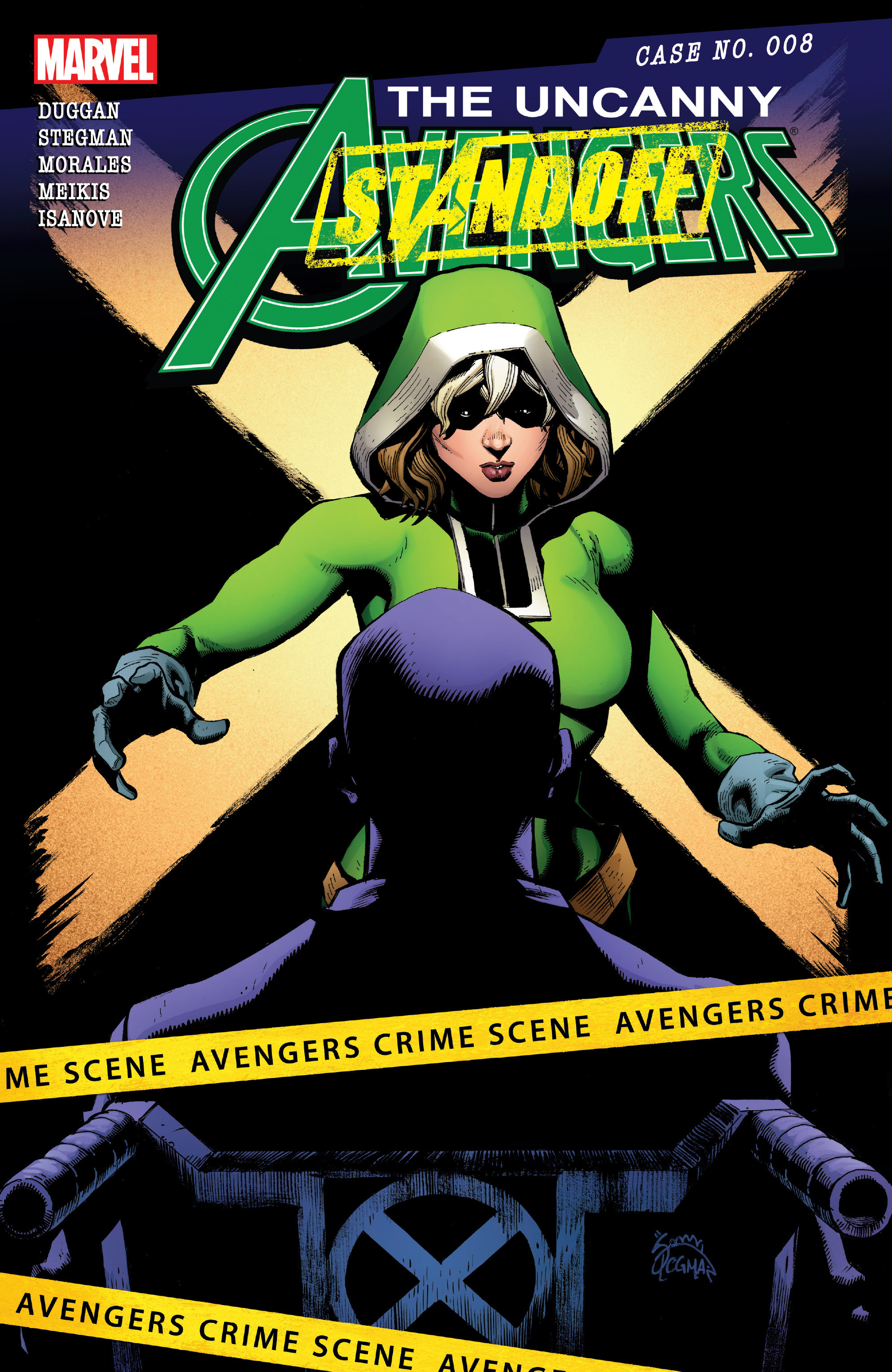Read online Uncanny Avengers [II] comic -  Issue #8 - 1