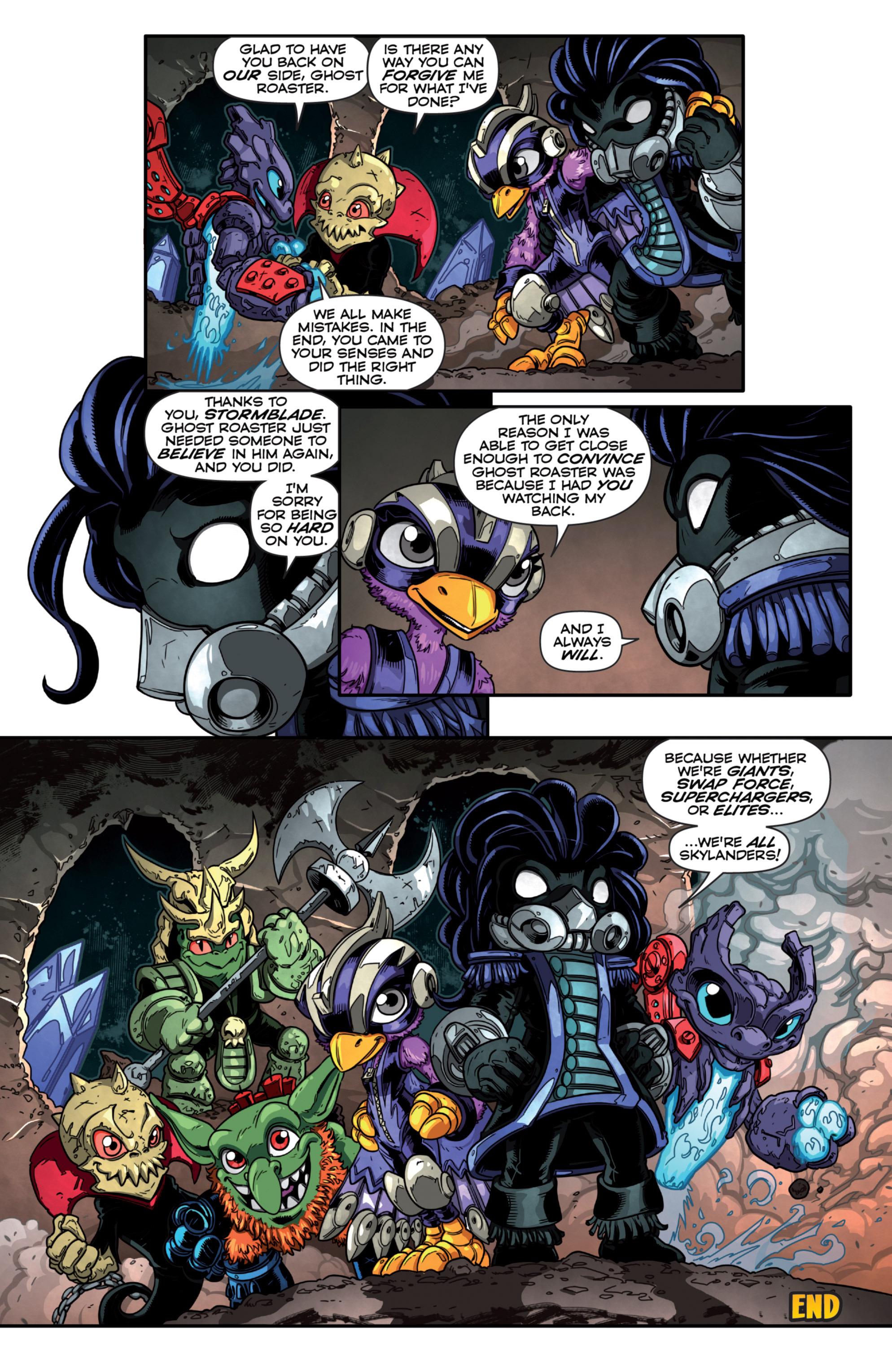 Read online Skylanders Superchargers comic -  Issue #3 - 17