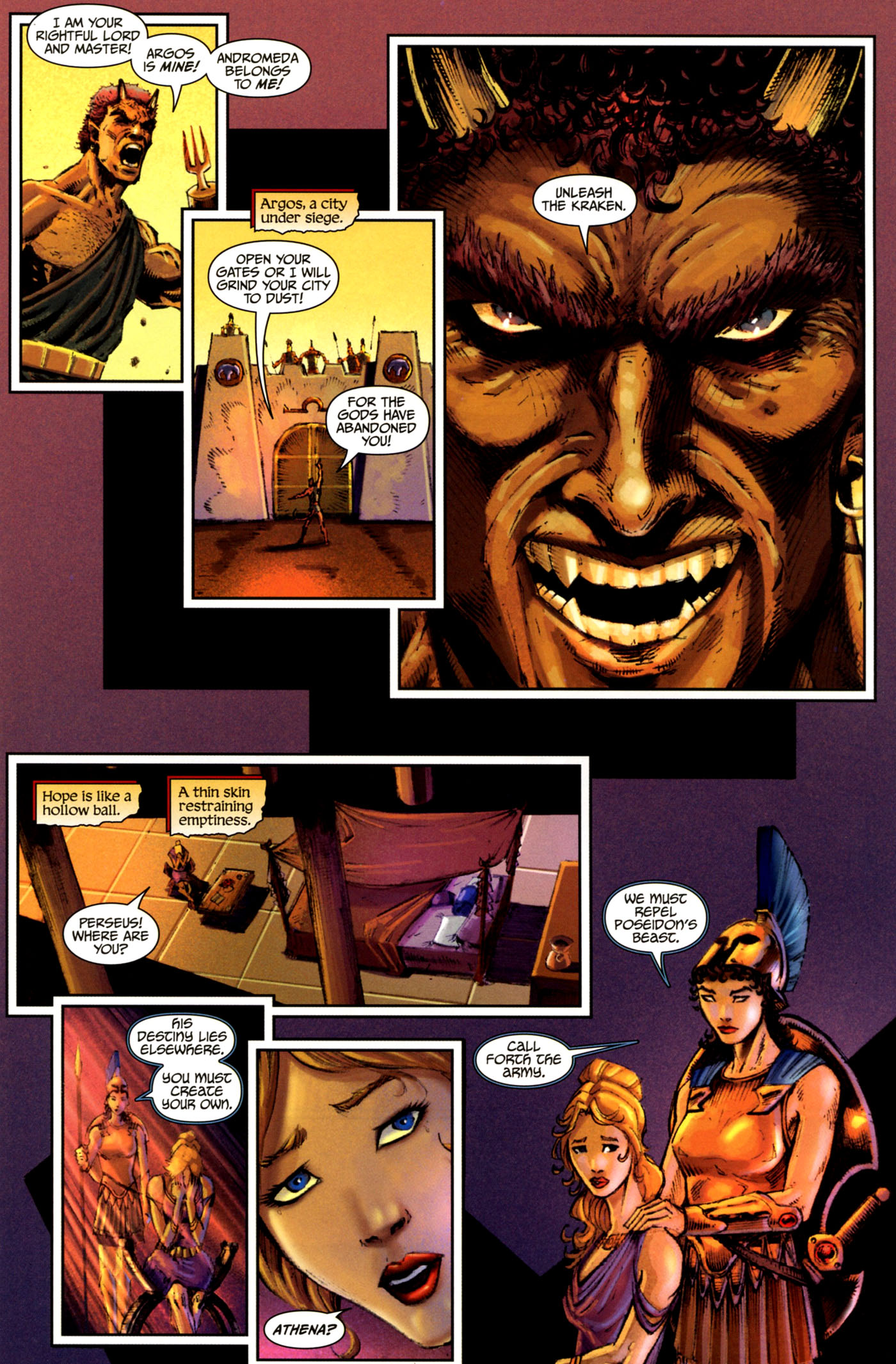 Read online Wrath of the Titans comic -  Issue #4 - 14