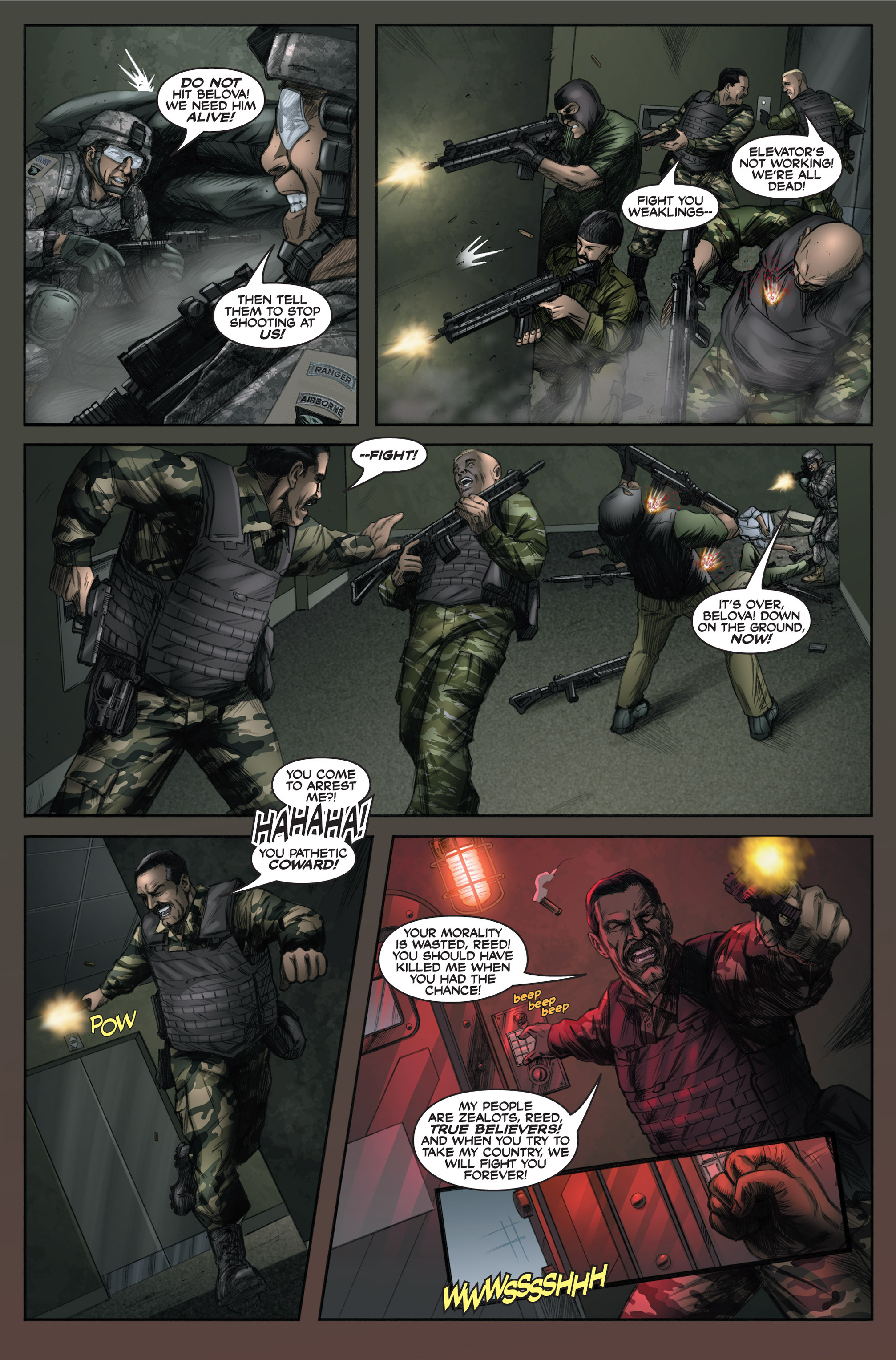Read online America's Army comic -  Issue #6 - 23
