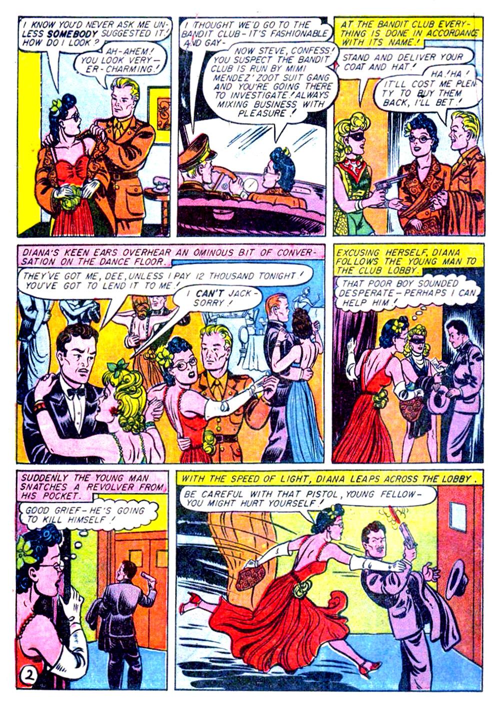 Read online Sensation (Mystery) Comics comic -  Issue #29 - 4