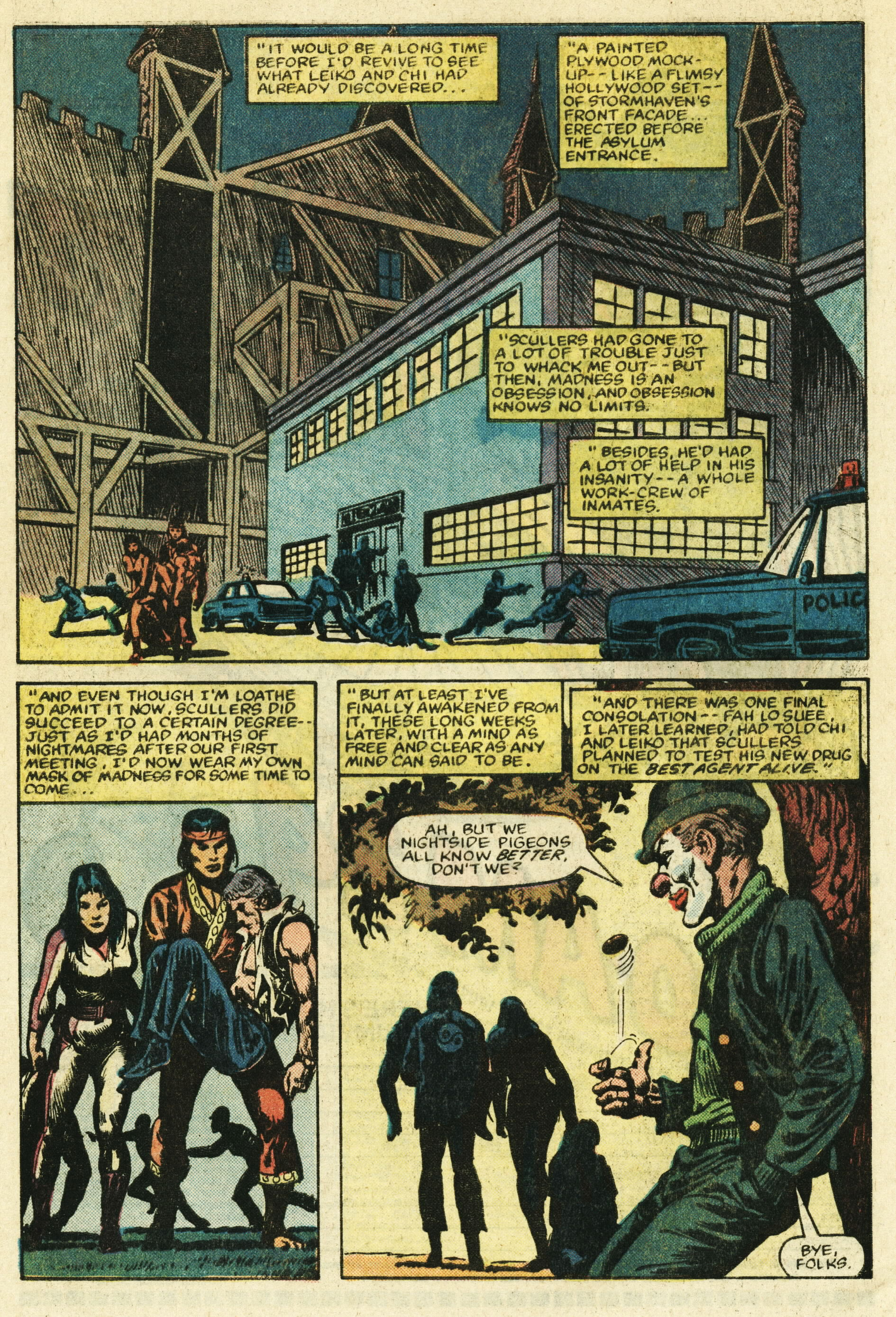 Read online Master of Kung Fu (1974) comic -  Issue #122 - 23