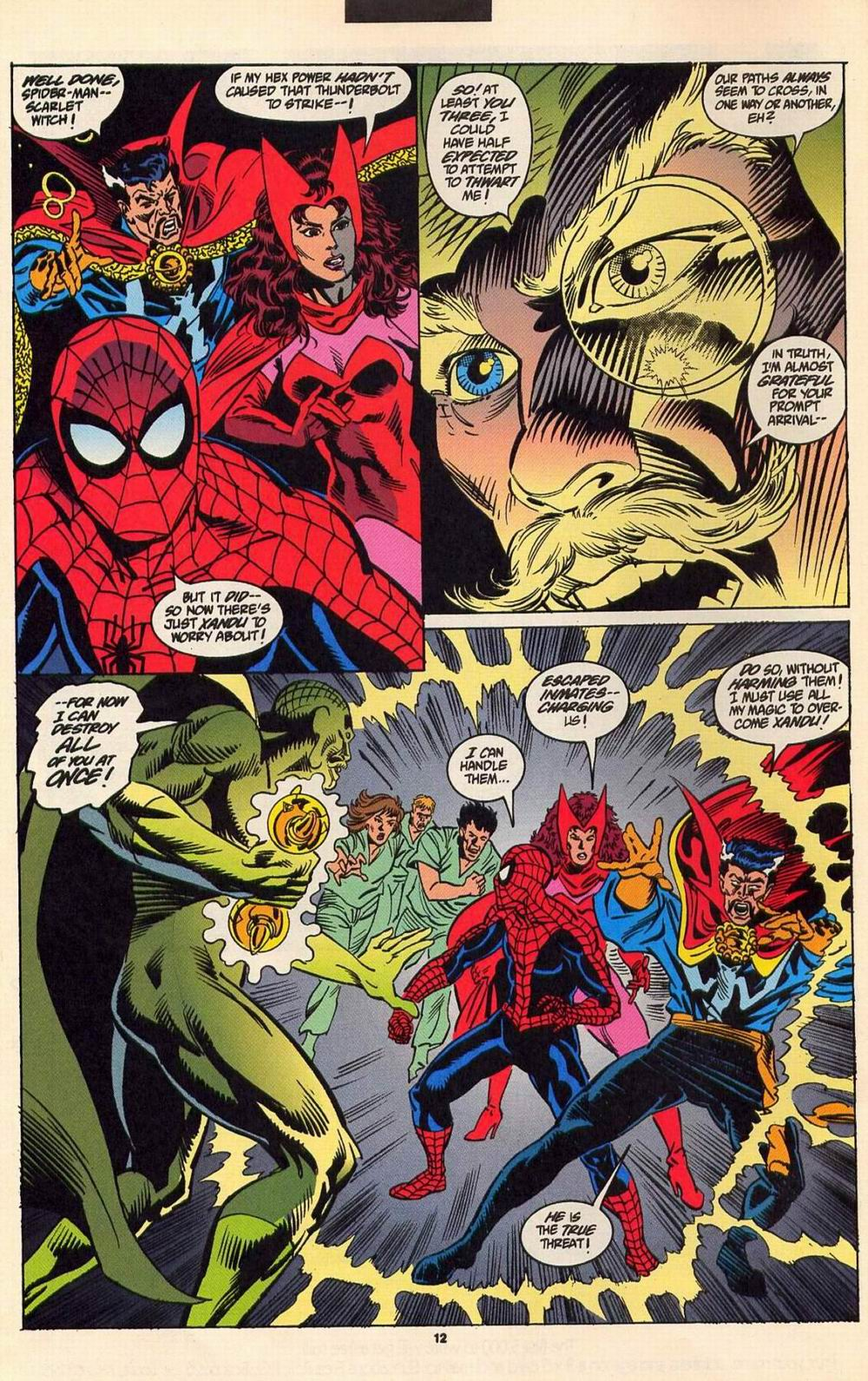 Read online Secret Defenders comic -  Issue #6 - 10