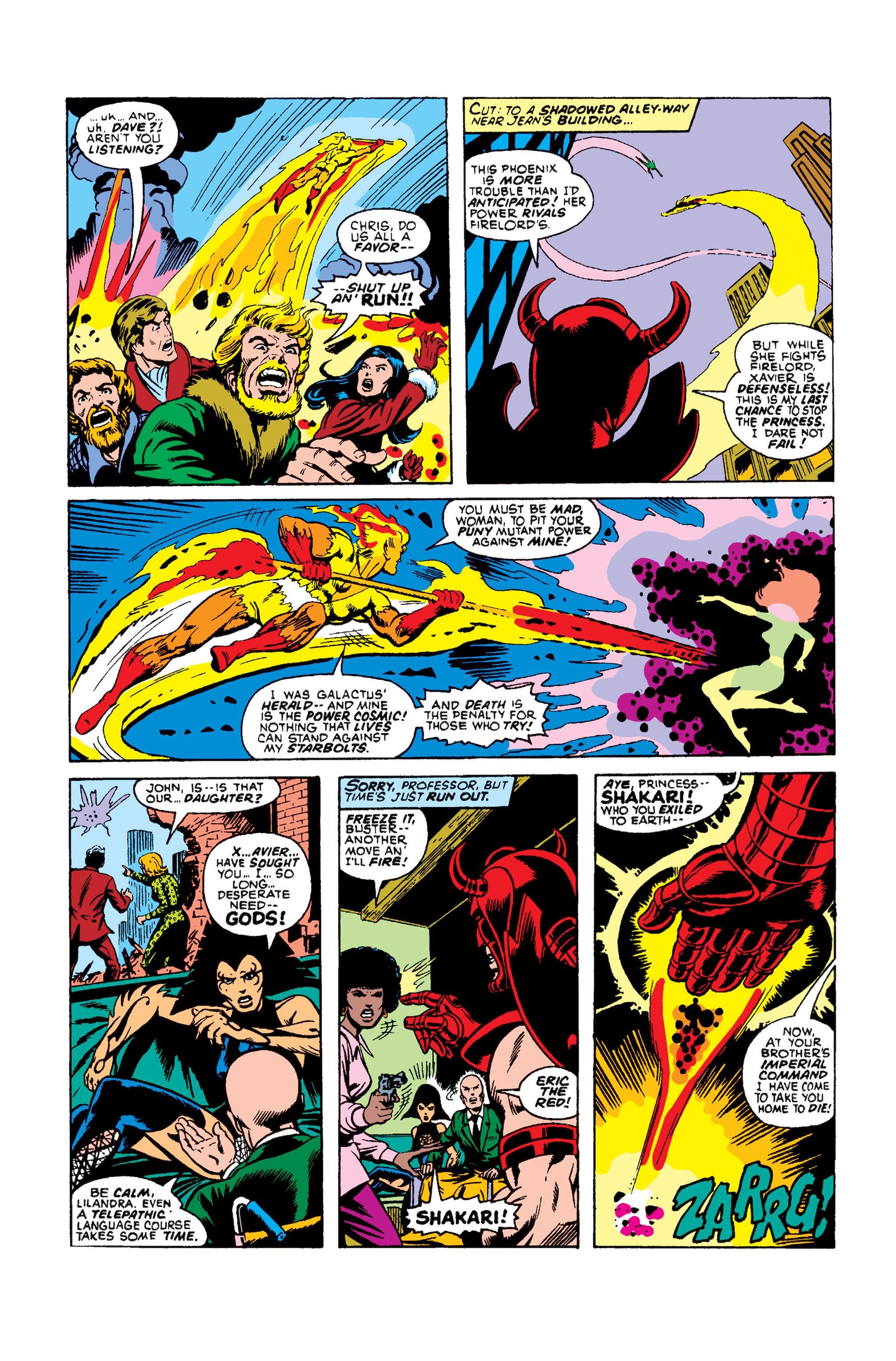 Read online Uncanny X-Men (1963) comic -  Issue #105 - 12
