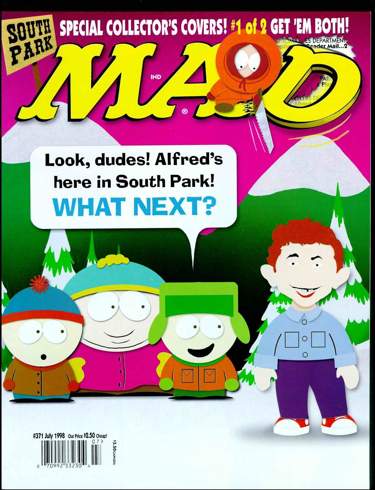 MAD issue 371 - Page 1