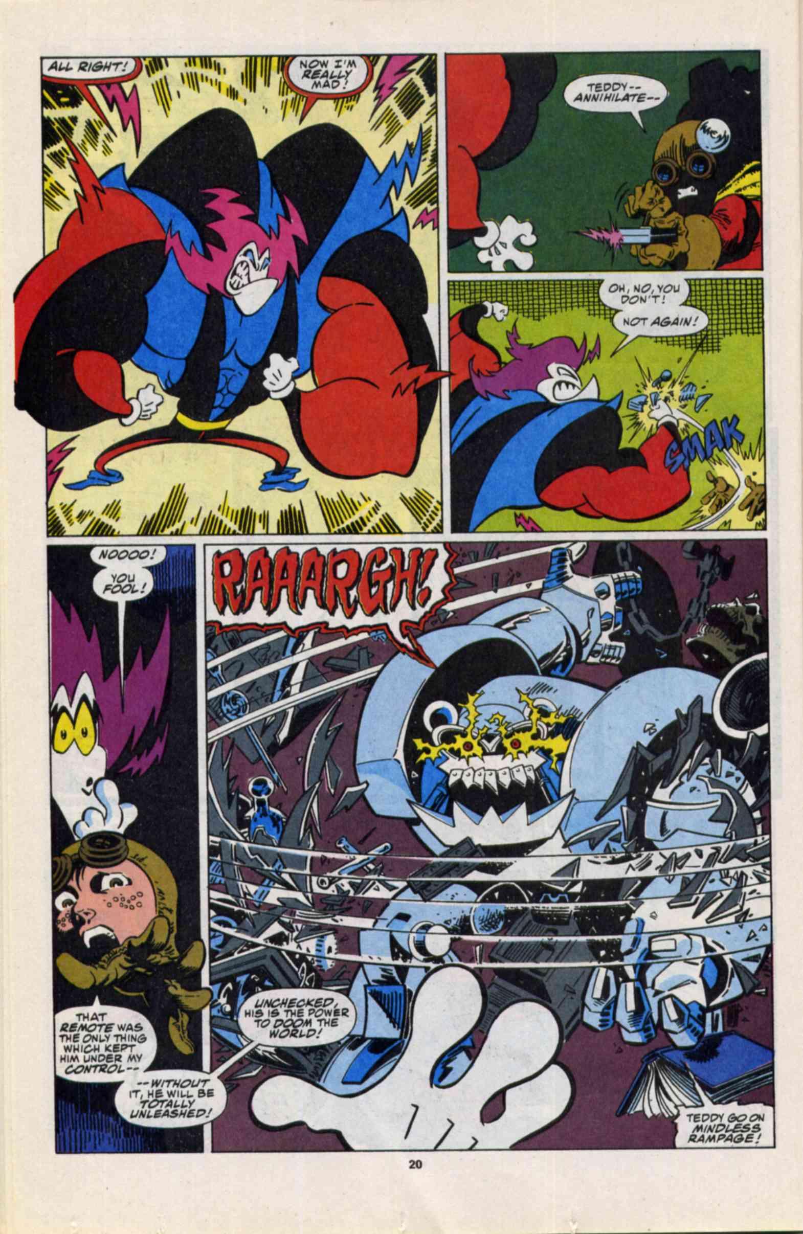Read online Slapstick comic -  Issue #3 - 16