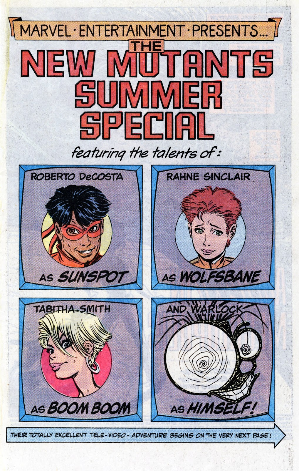 The New Mutants Summer Special issue Full - Page 3
