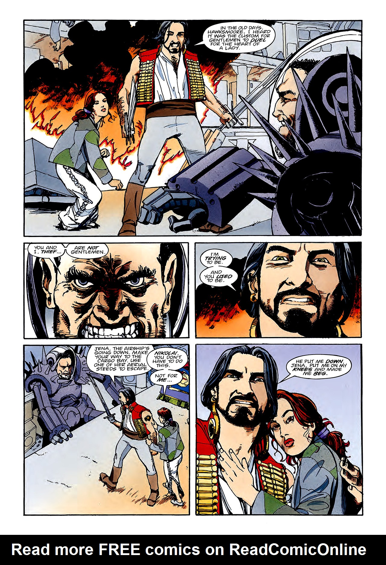 Read online Nikolai Dante comic -  Issue # TPB 3 - 117