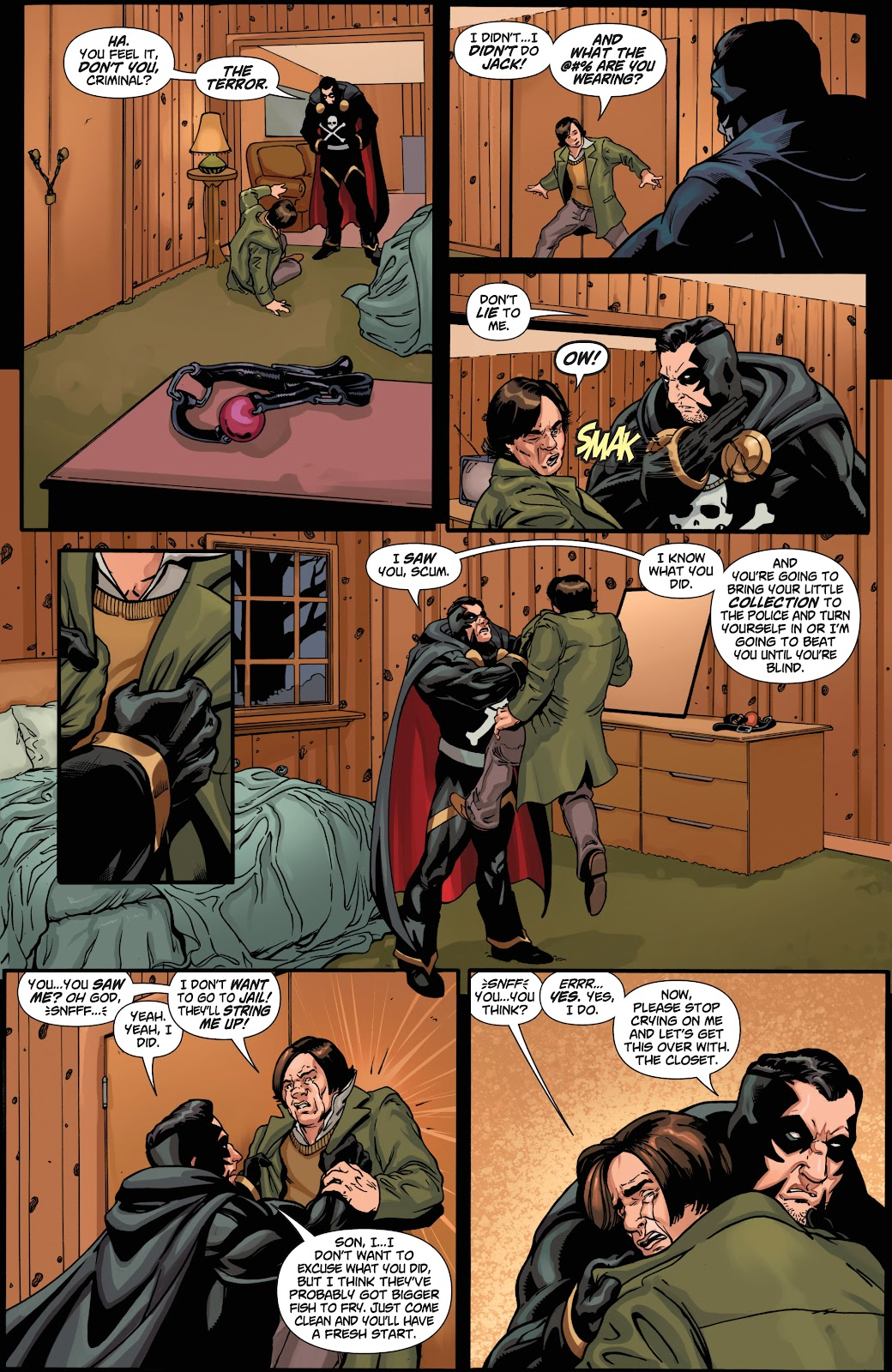 Read online Black Terror (2019) comic -  Issue # Full - 17