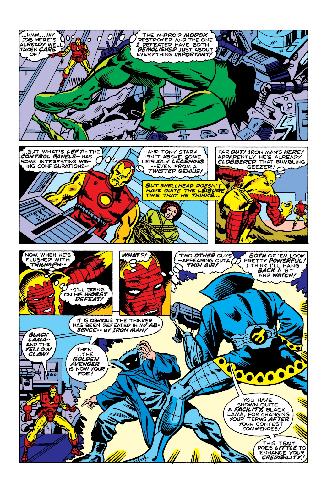 Read online Marvel Masterworks: The Invincible Iron Man comic -  Issue # TPB 10 (Part 2) - 62