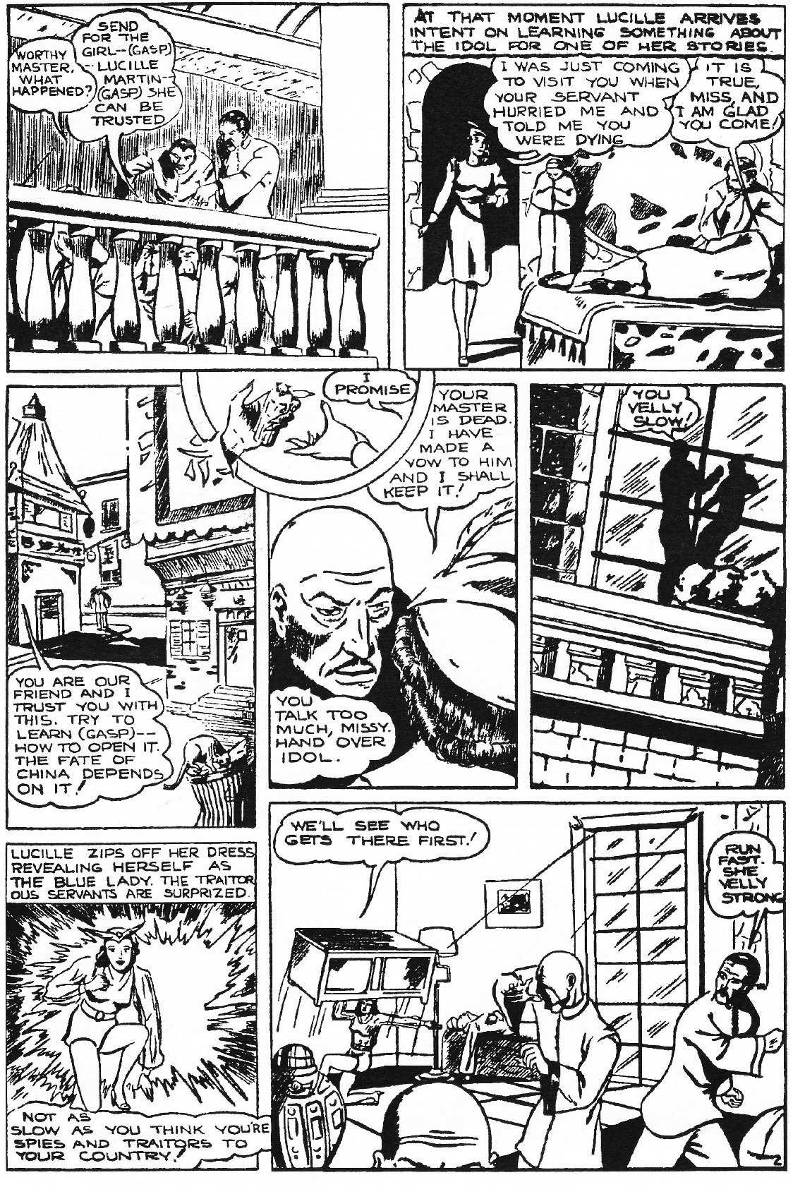 Read online Men of Mystery Comics comic -  Issue #82 - 204