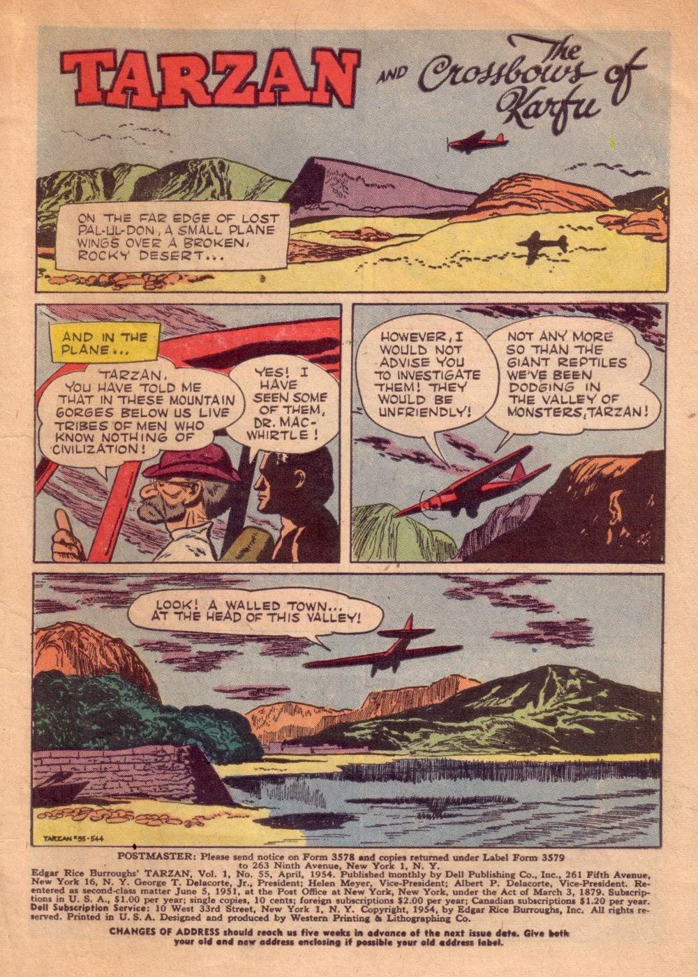 Tarzan (1948) issue 55 - Page 3