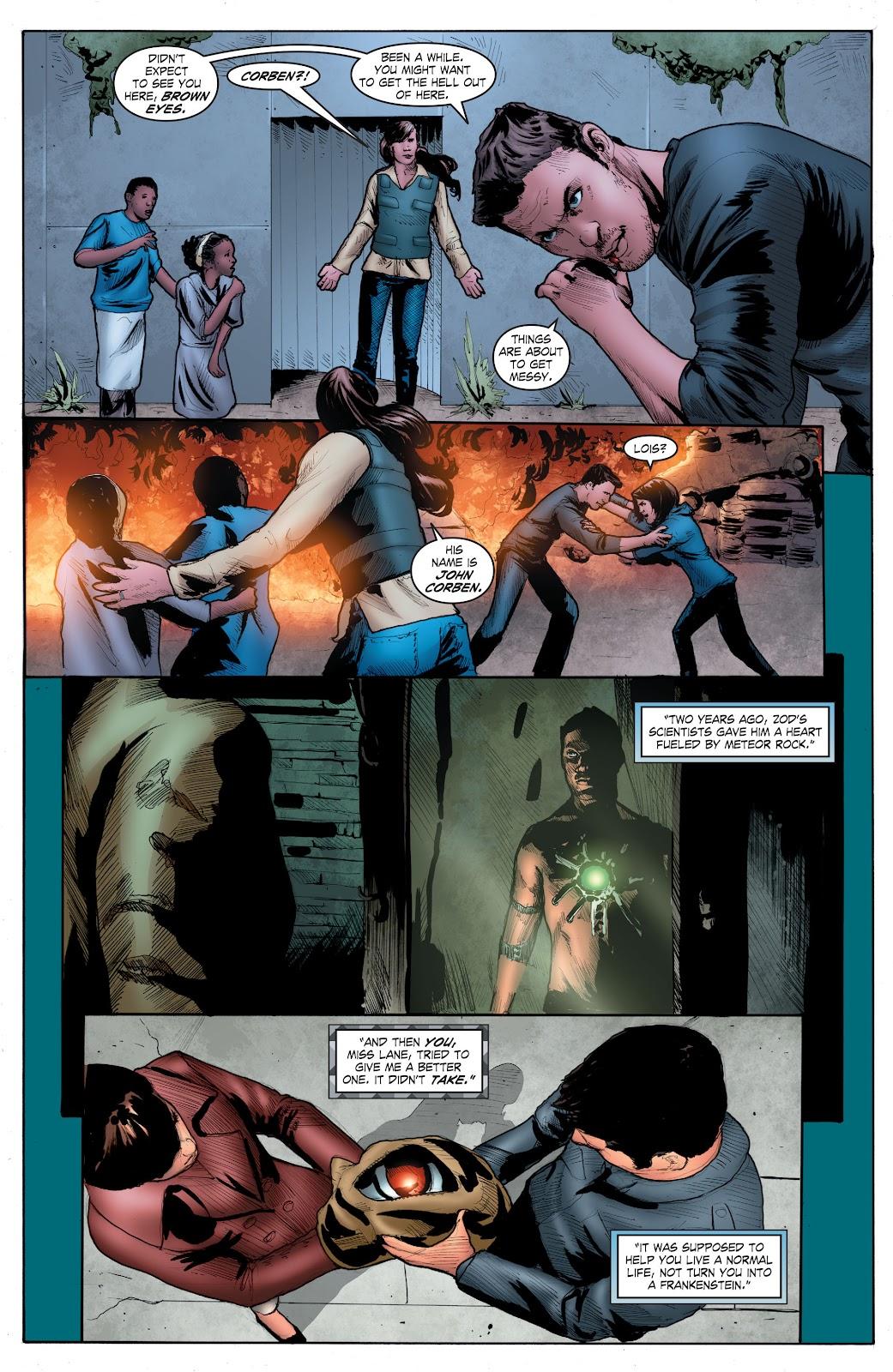 Read online Smallville Season 11 [II] comic -  Issue # TPB 4 - 127