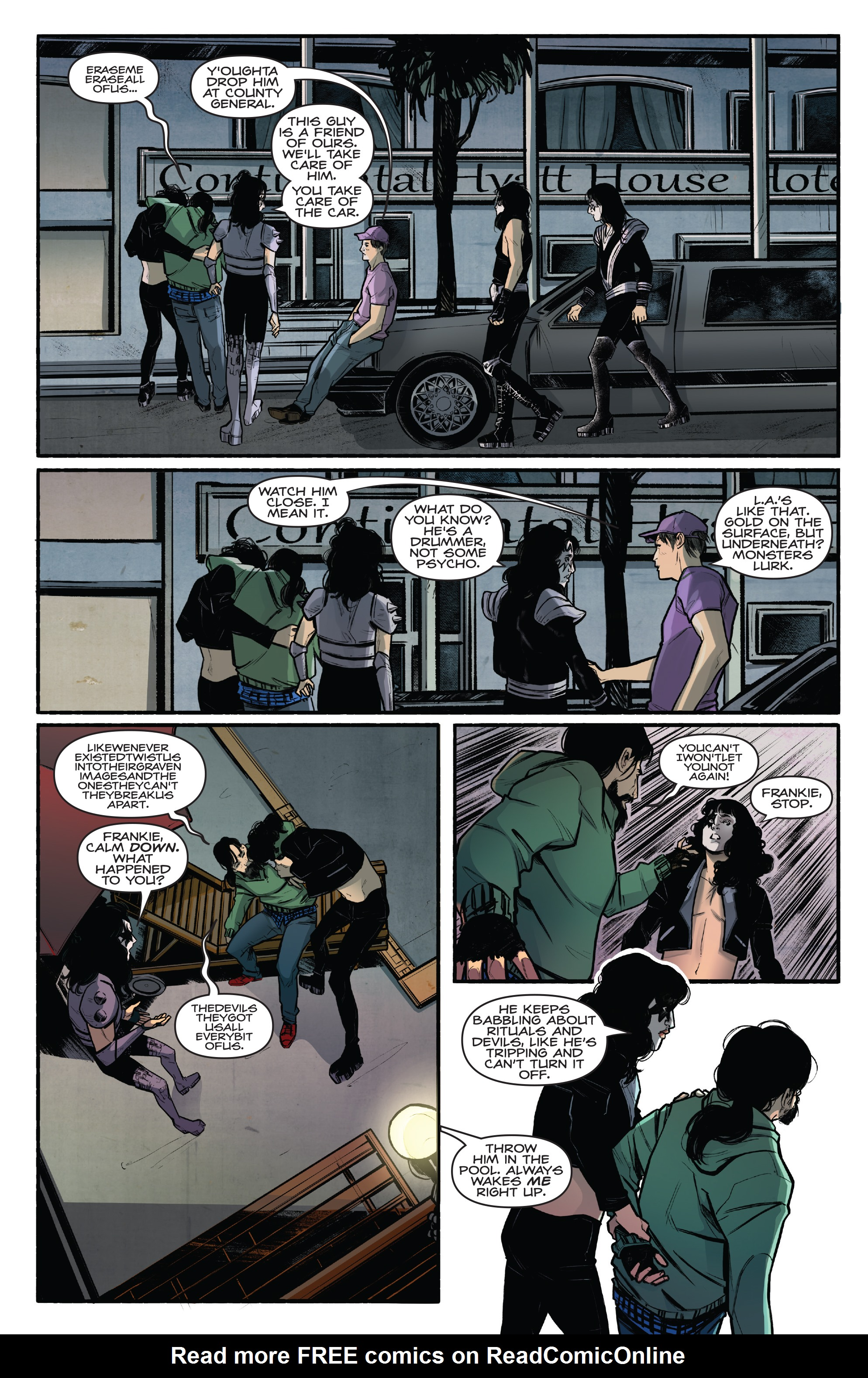 Read online Kiss/Vampirella comic -  Issue #1 - 24