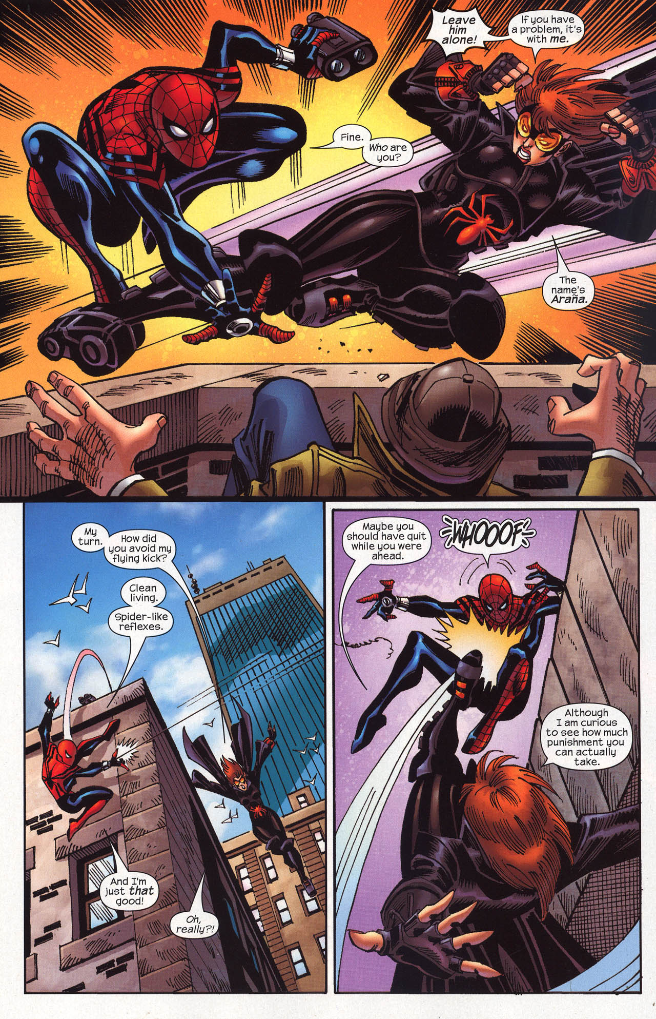 Read online Amazing Spider-Girl comic -  Issue #19 - 21