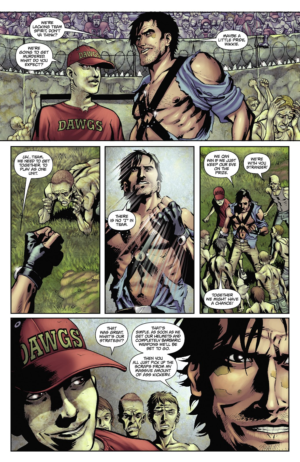 Army of Darkness: The Long Road Home issue TPB - Page 52
