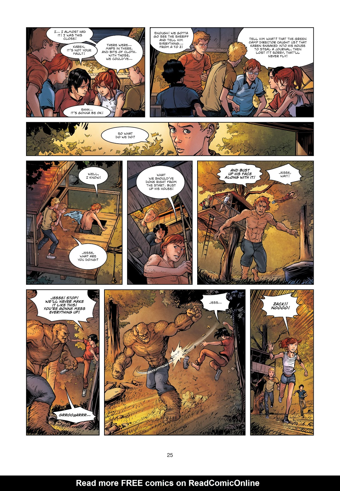 Read online Vigilantes comic -  Issue #3 - 25