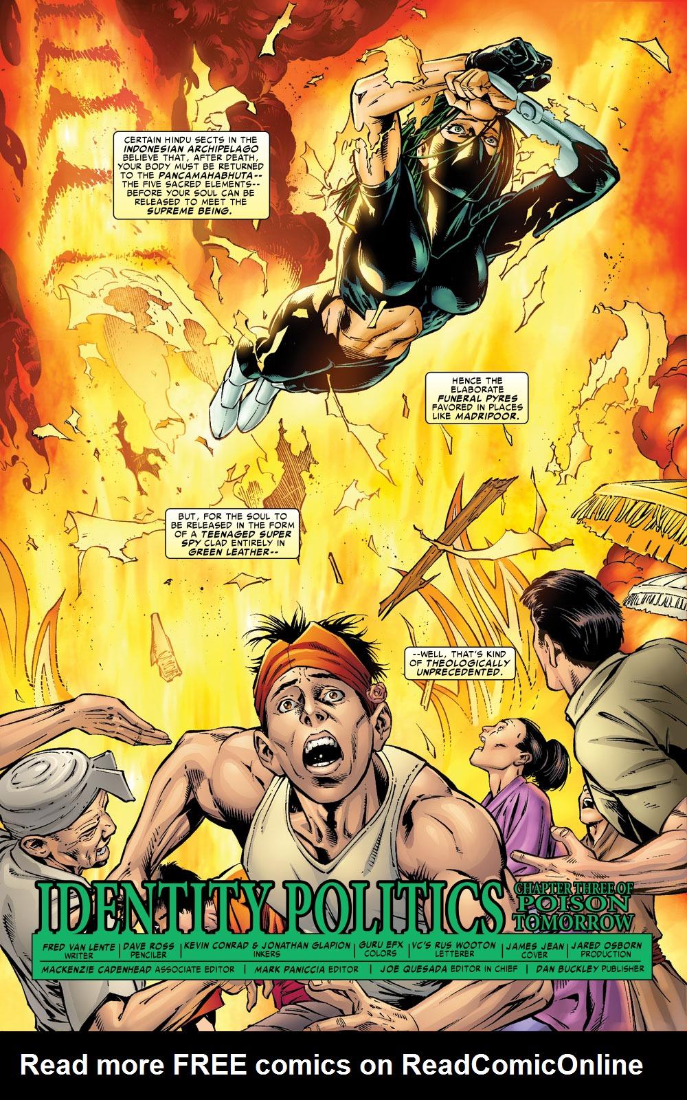 Read online Amazing Fantasy (2004) comic -  Issue #9 - 2