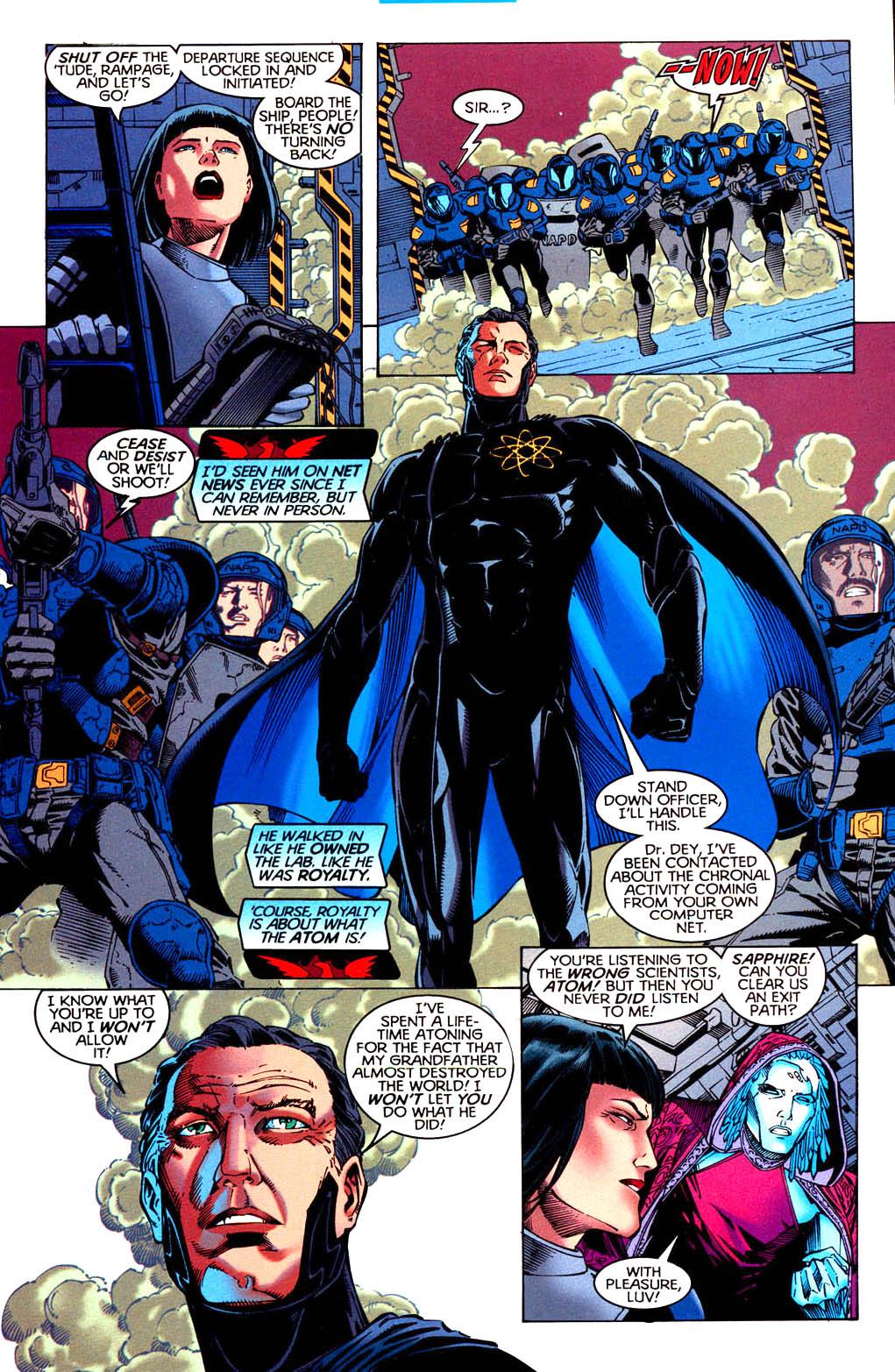 Read online Tangent Comics/ Doom Patrol comic -  Issue # Full - 8