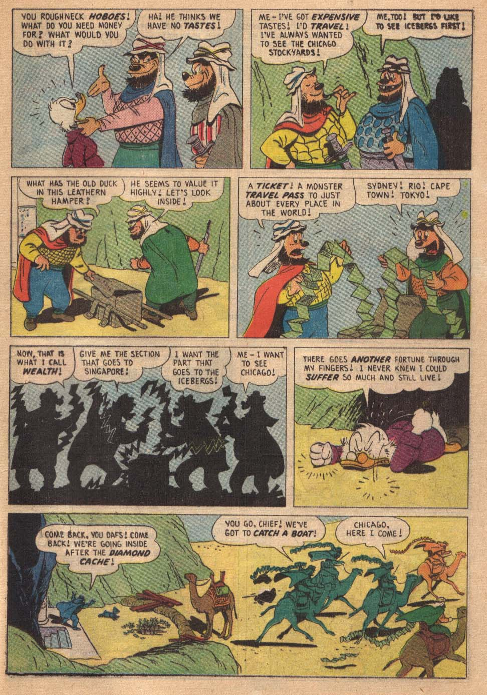 Read online Uncle Scrooge (1953) comic -  Issue #19 - 25