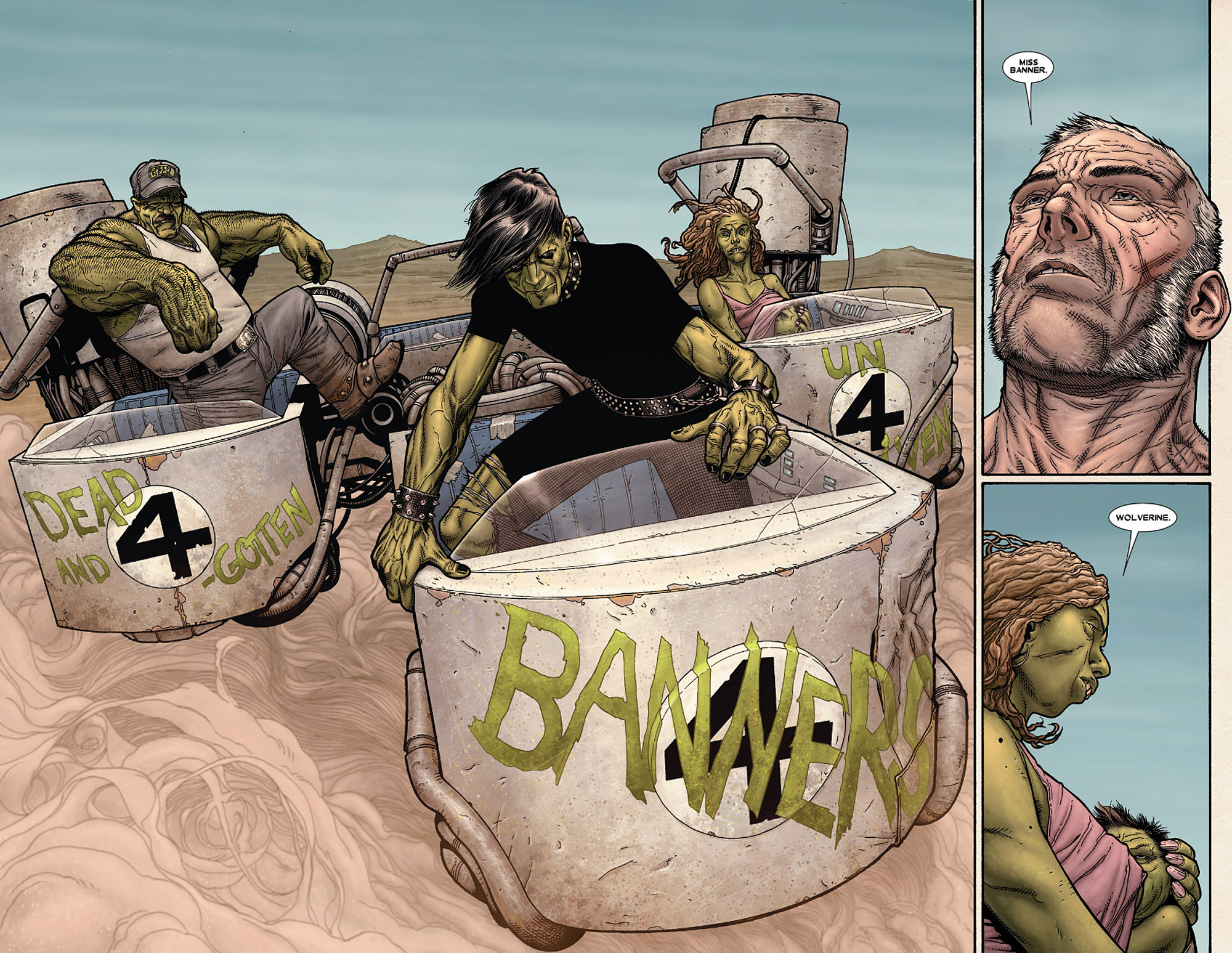 Read online Wolverine: Old Man Logan comic -  Issue # Full - 12